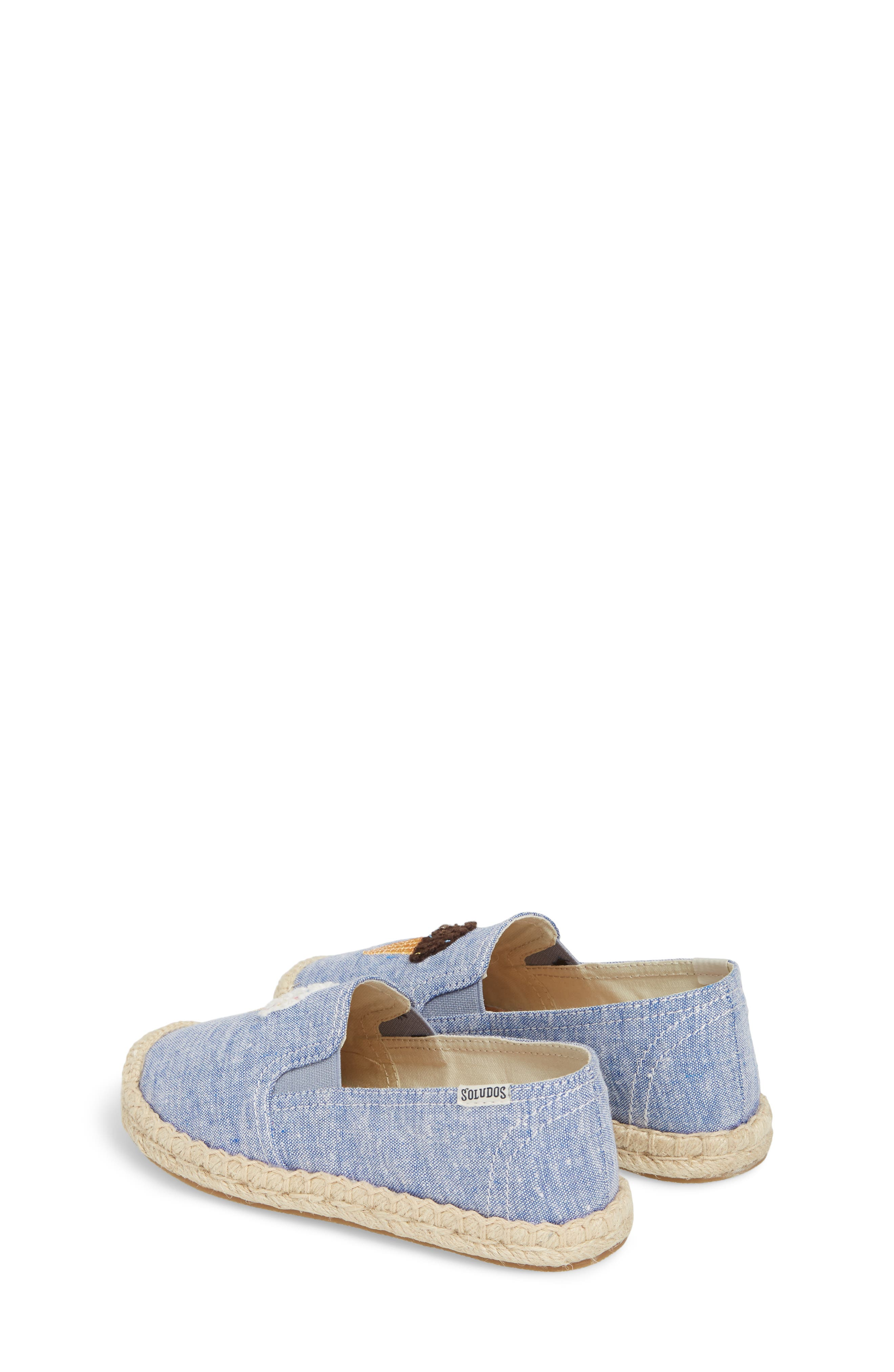 Ice Cream Embroidered Espadrille,                             Alternate thumbnail 3, color,                             OCEAN BLUE