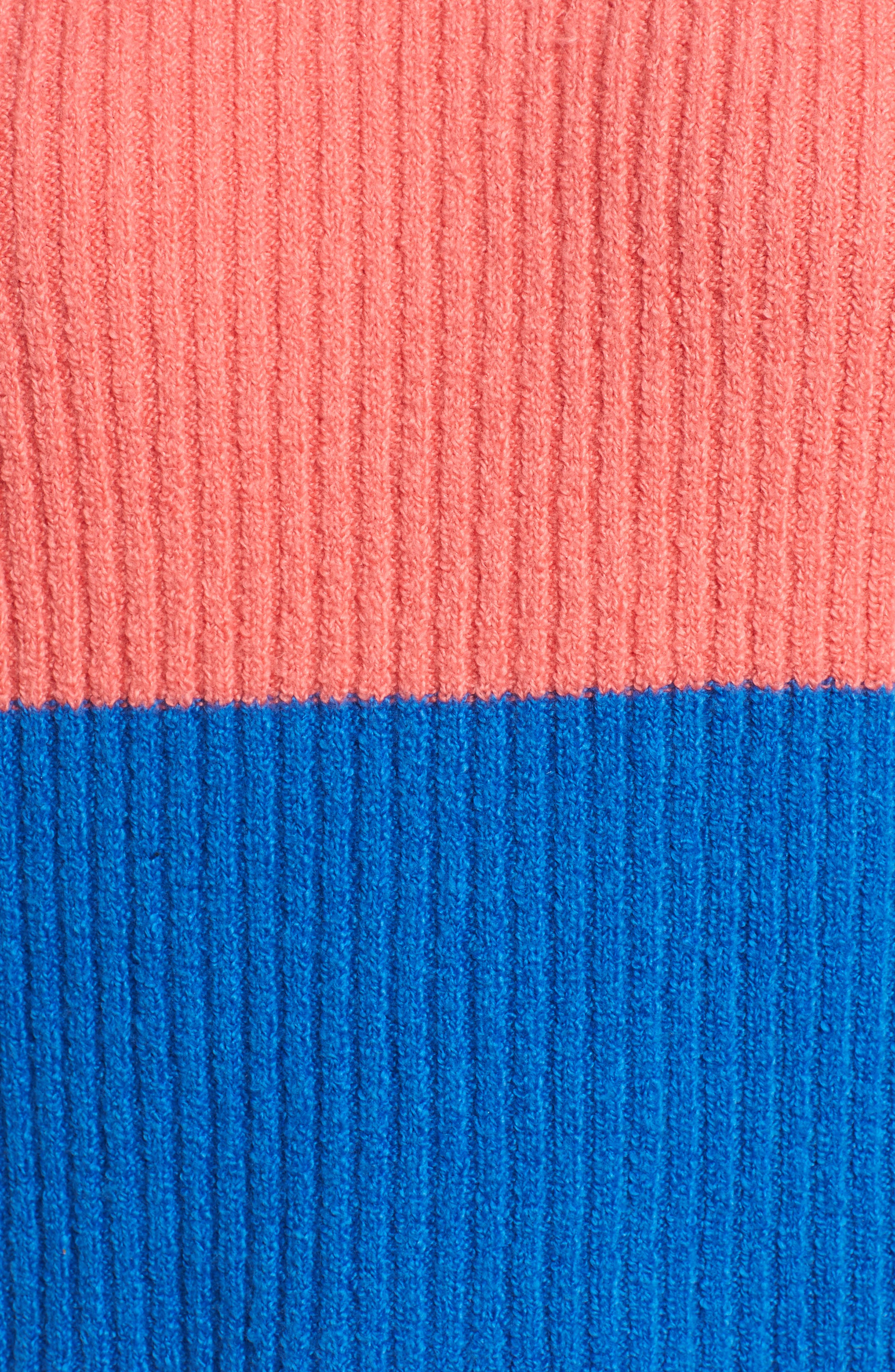 Rugby Stripe Sweater,                             Alternate thumbnail 7, color,                             BLUE BOAT COURTNEY STRIPE