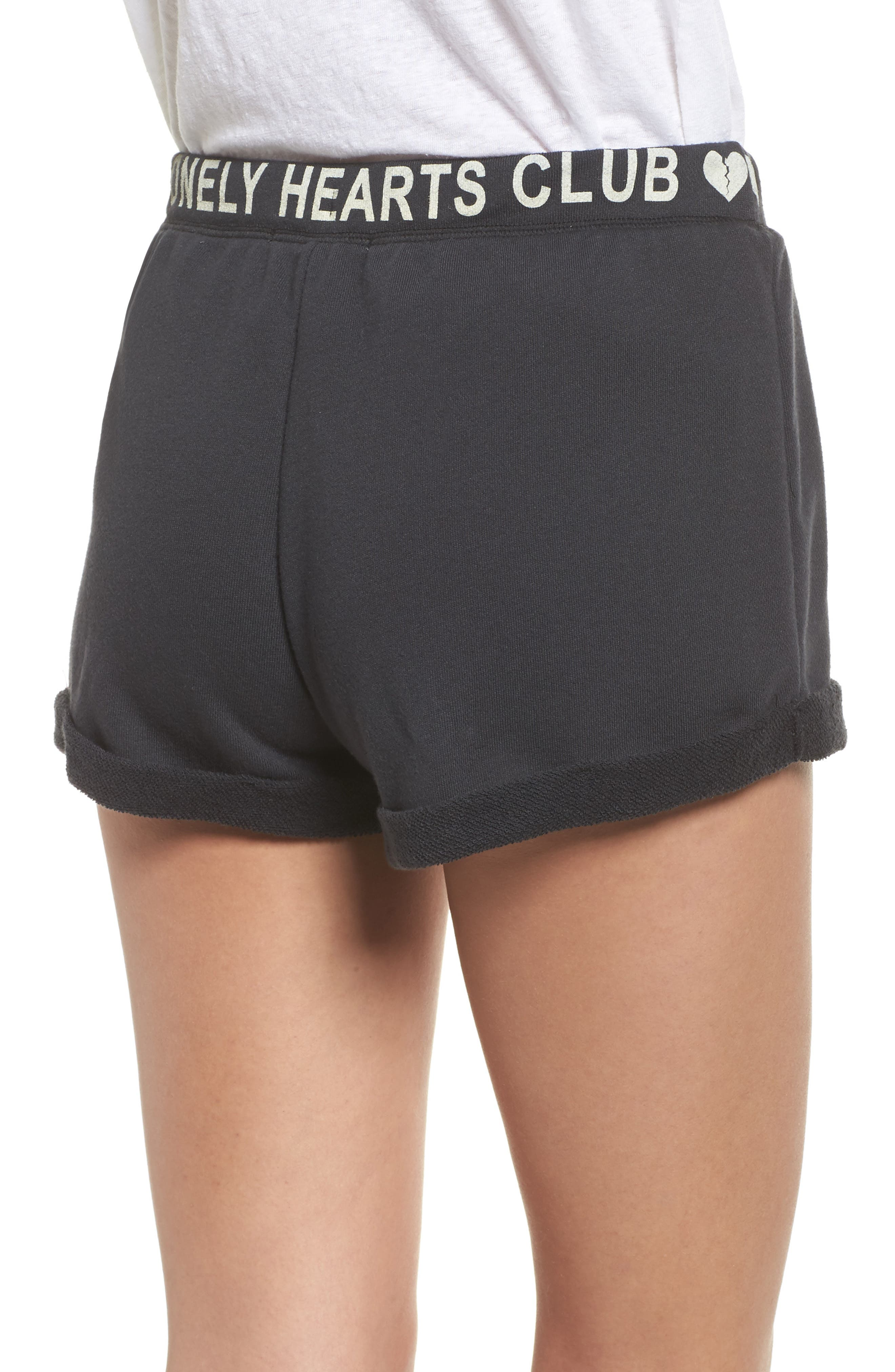 Lonely Hearts Club Lounge Shorts,                             Alternate thumbnail 2, color,