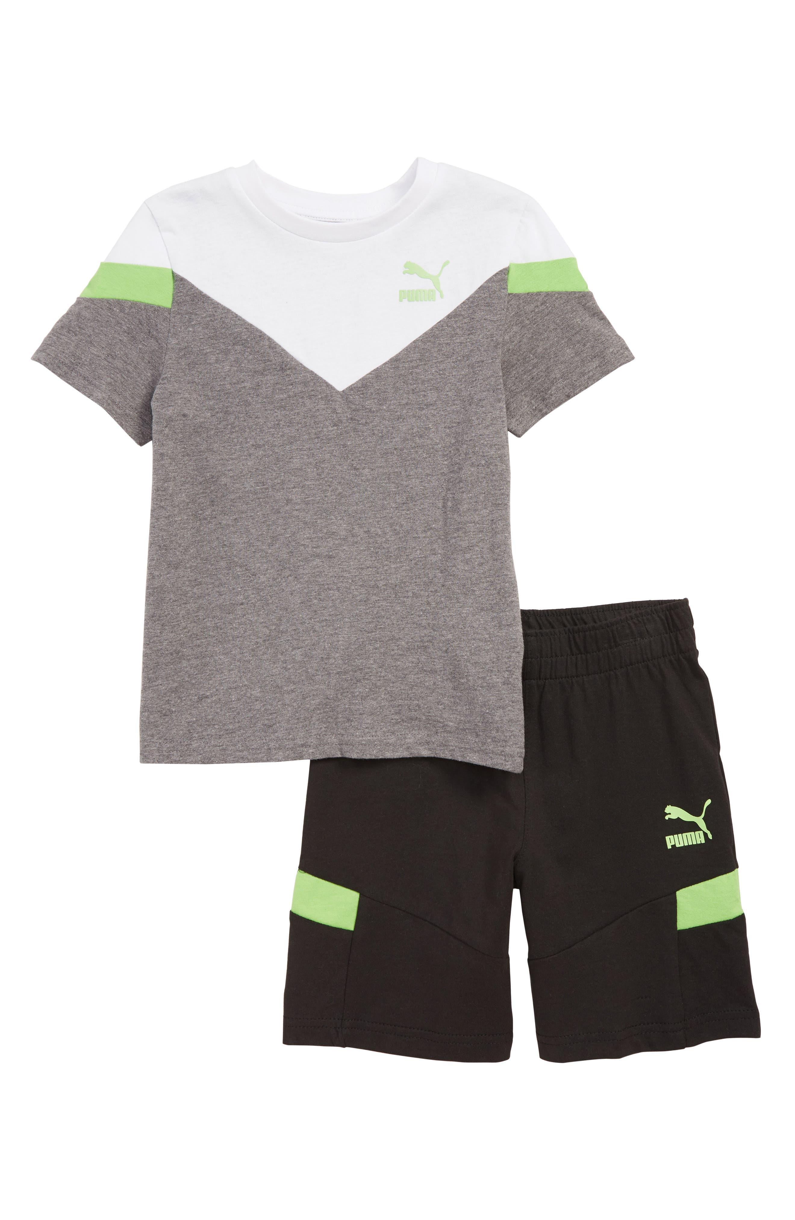 Toddler Boys Puma Colorblock TShirt  Shorts Set