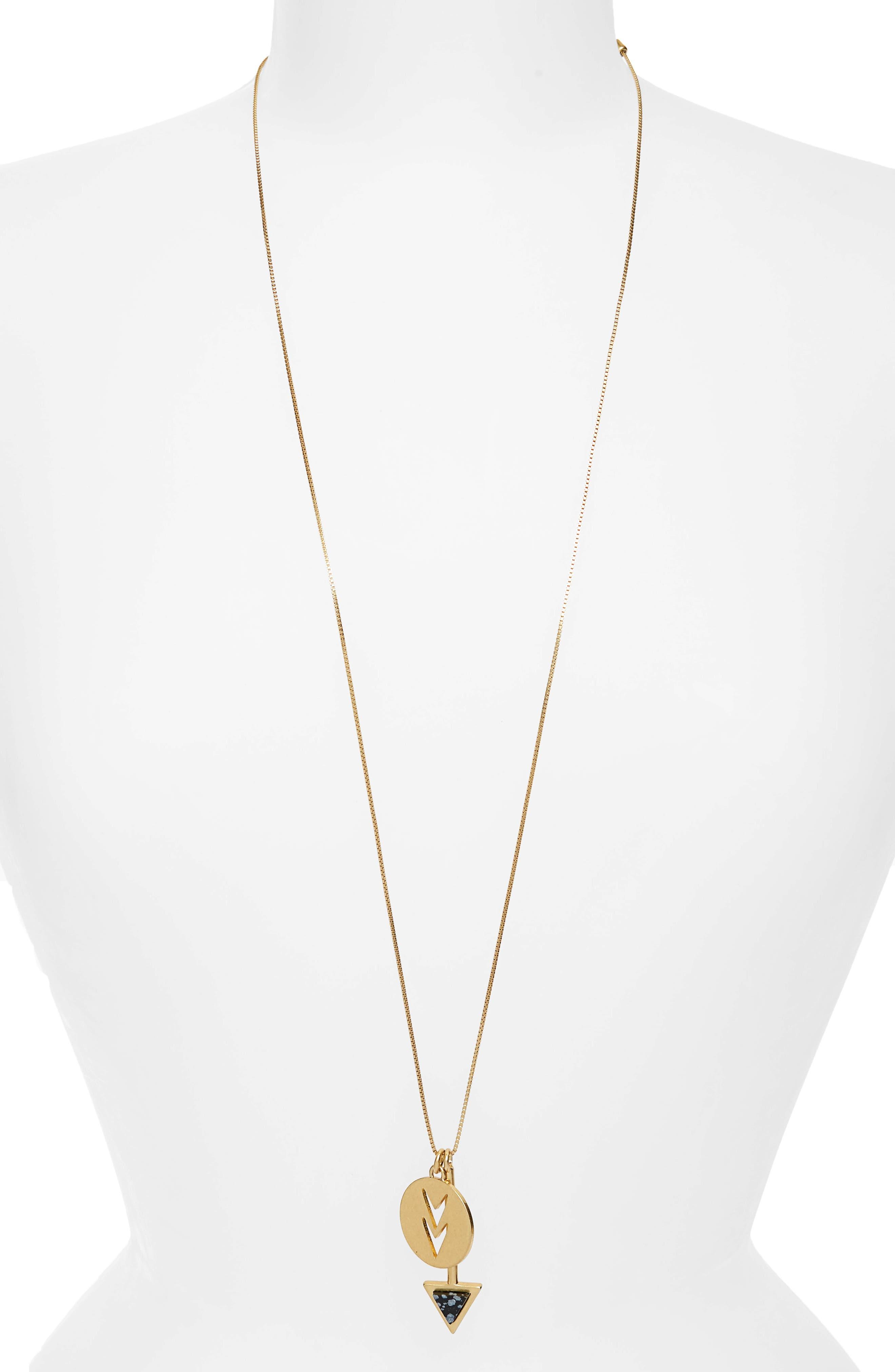 Arrowshift Pendant Necklace,                         Main,                         color, 710