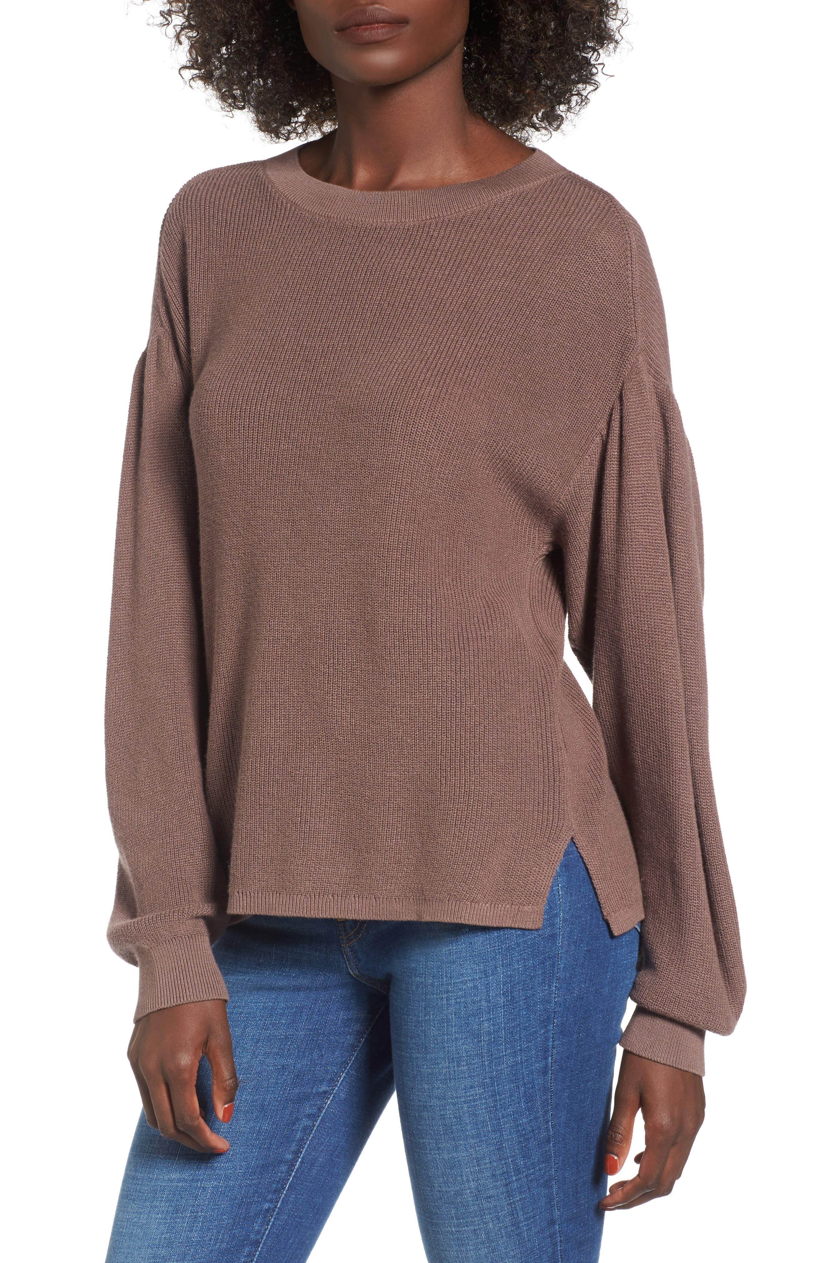 Drape Sleeve Sweater,                             Main thumbnail 1, color,                             230