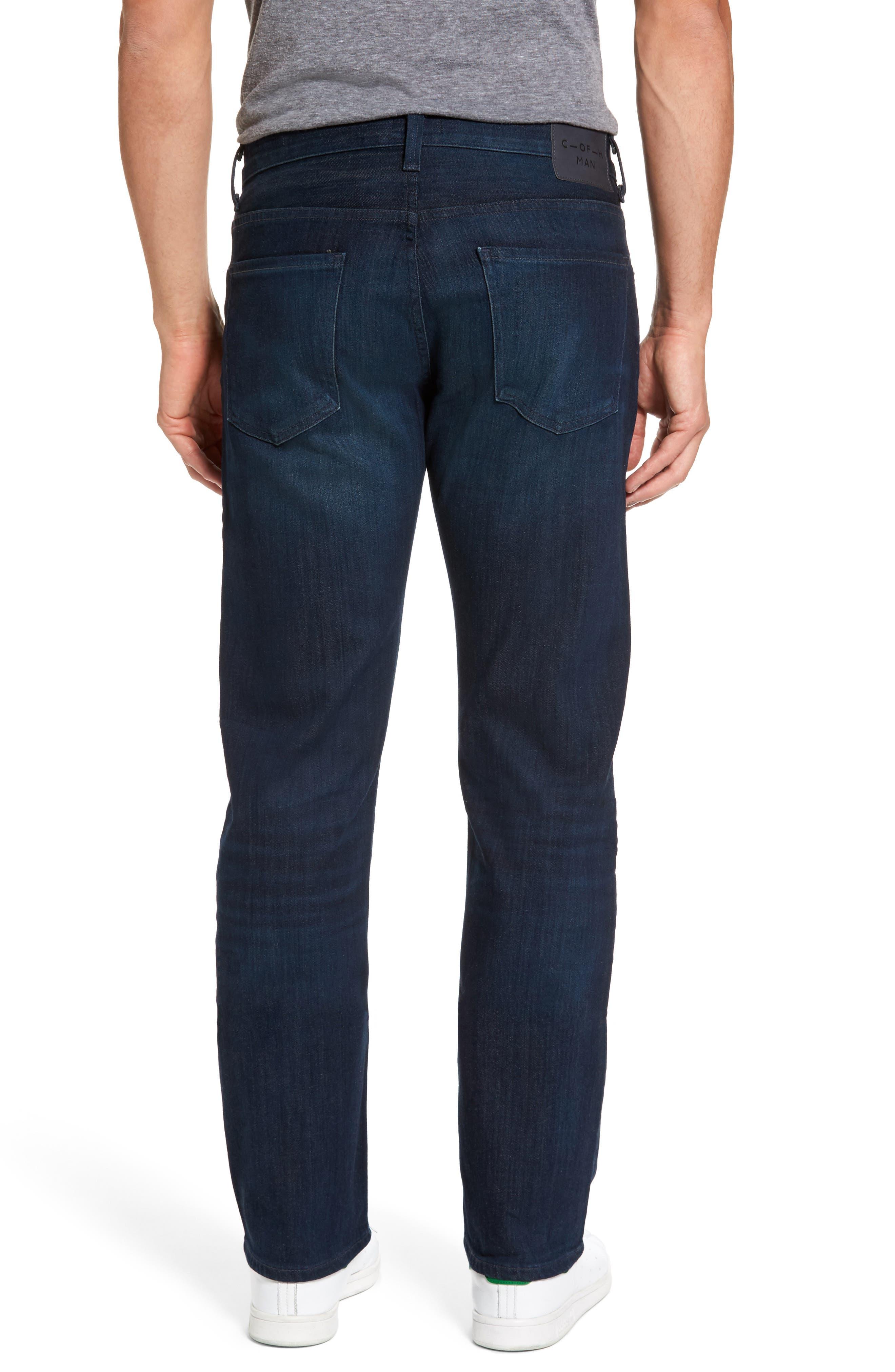'Sid Classic' Straight Leg Jeans,                             Alternate thumbnail 3, color,                             473