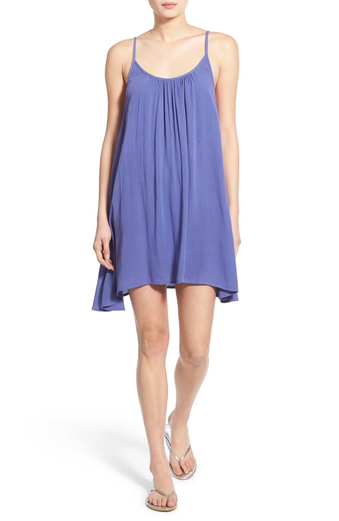 'Windy' Scoop Neck Shift Dress,                             Main thumbnail 6, color,