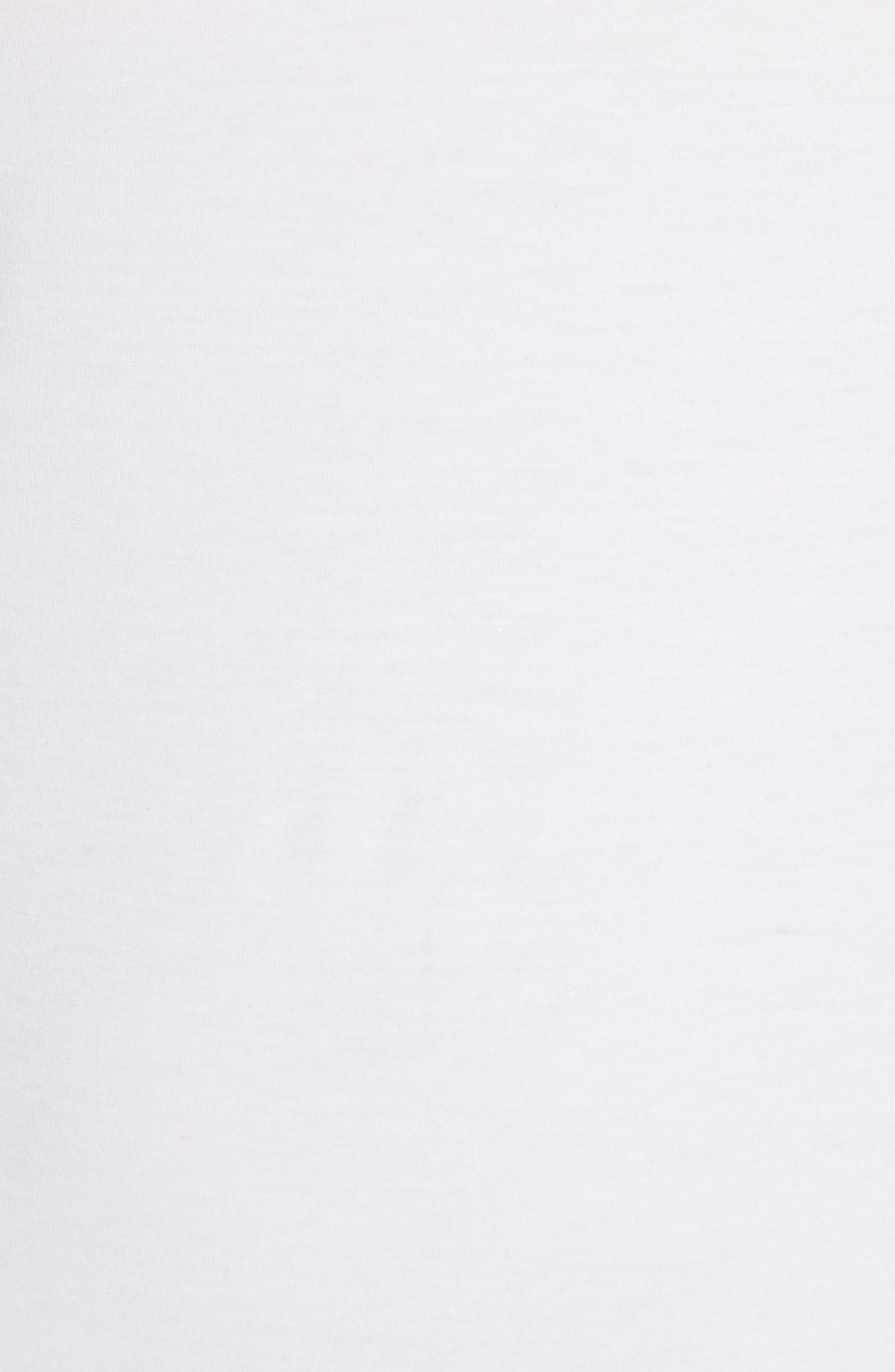 Cotton Lace Camisole,                             Alternate thumbnail 5, color,                             WHITE