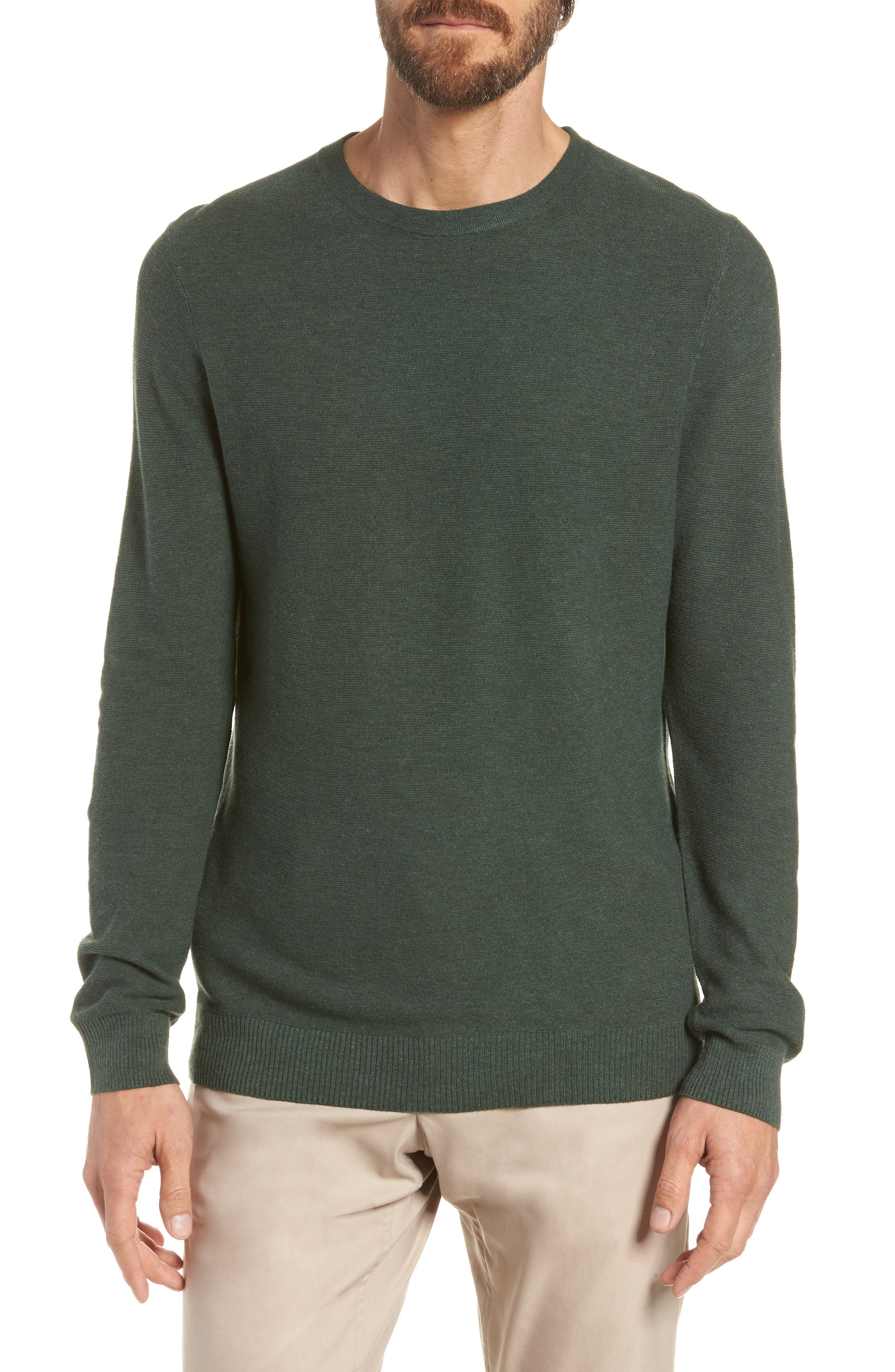 Slim Fit Crewneck Sweater,                             Main thumbnail 1, color,                             300