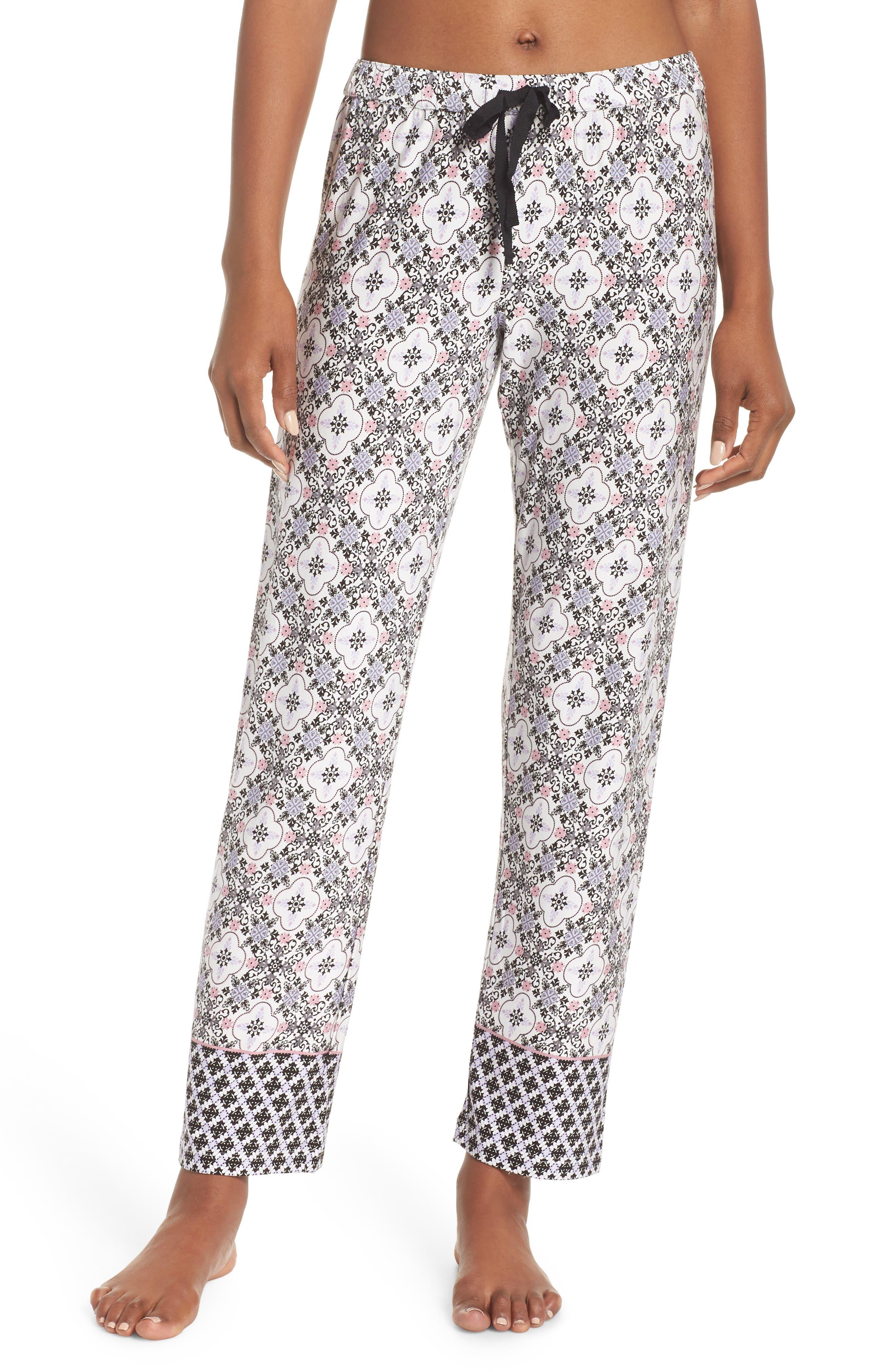 Ankle Pajama Pants,                             Main thumbnail 1, color,                             901