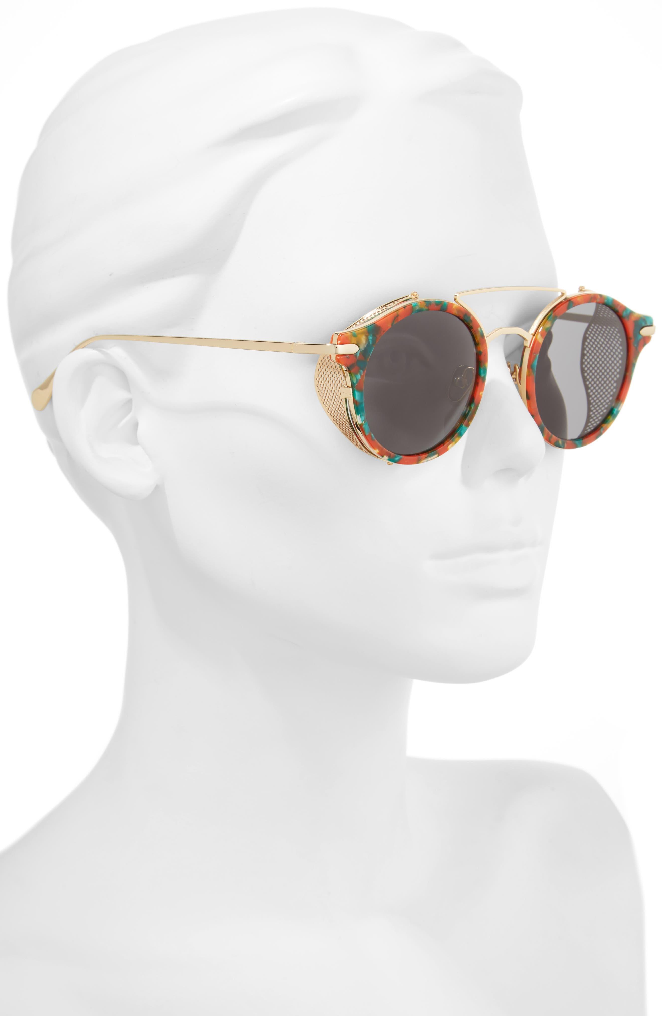 Mile High 47mm Sunglasses,                             Alternate thumbnail 6, color,