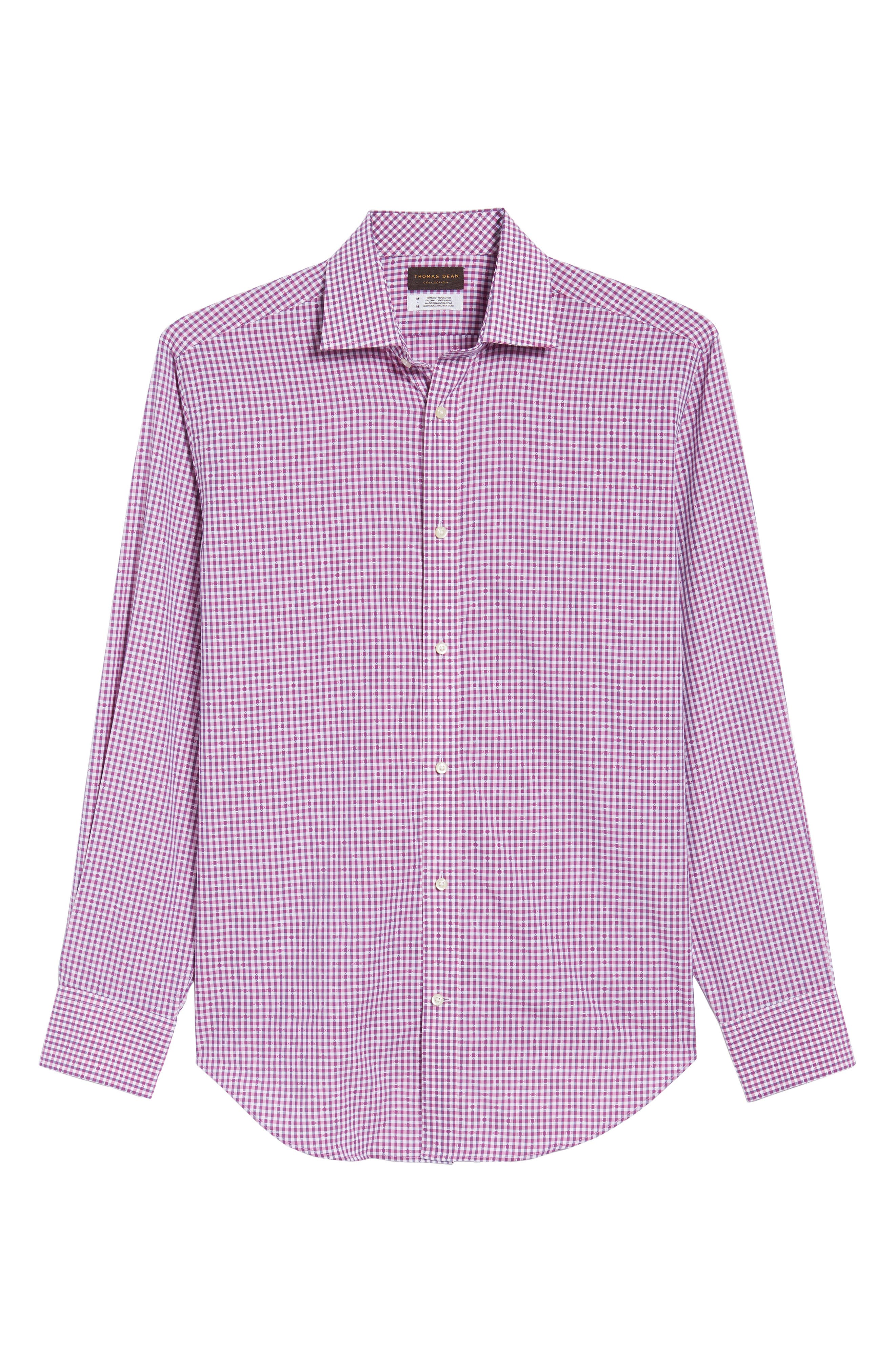 Mini Check Sport Shirt,                             Alternate thumbnail 12, color,