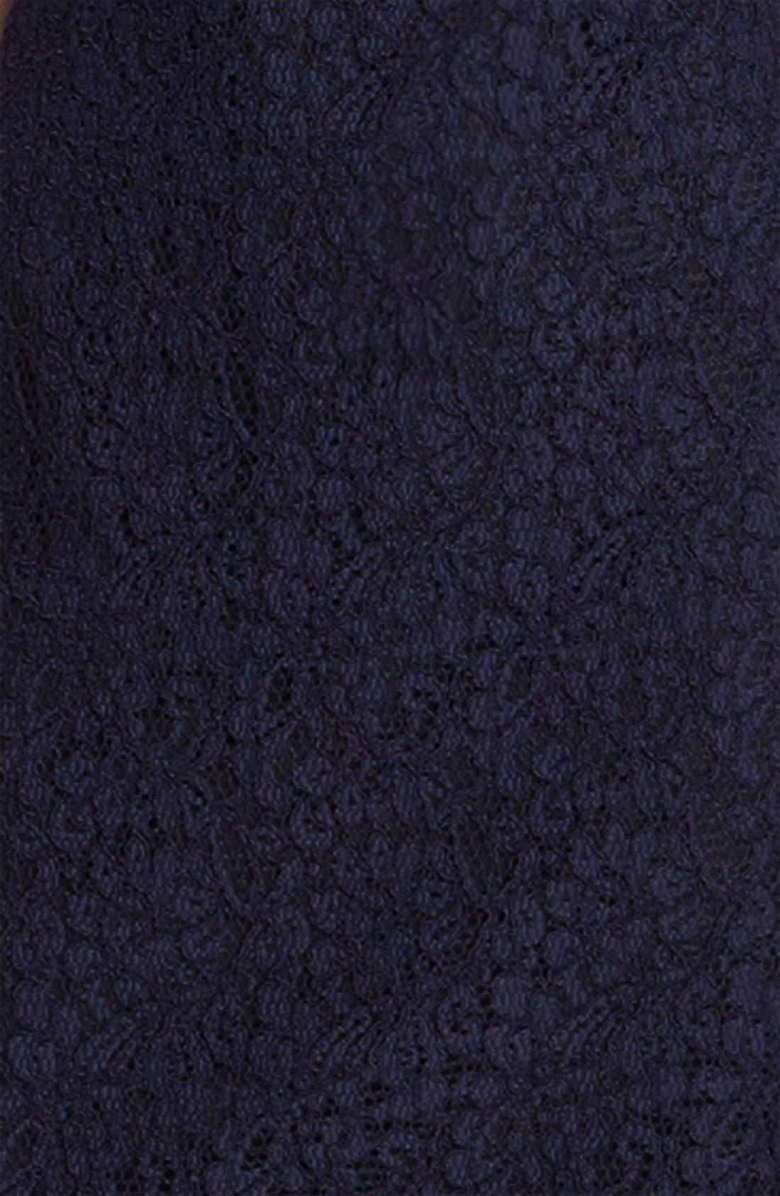 Boatneck Lace Sheath Dress,                             Alternate thumbnail 106, color,