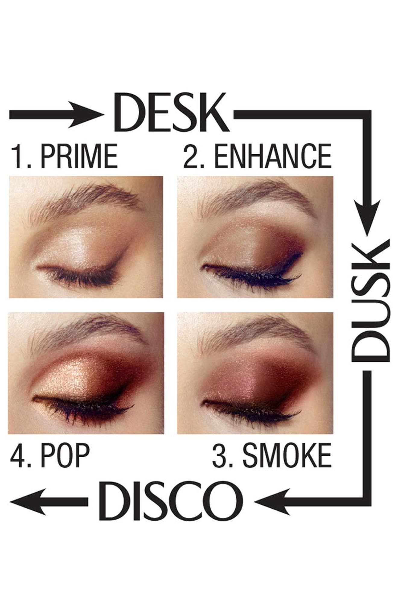 Luxury Palette - The Uptown Girl Color-Coded Eyeshadow Palette,                             Alternate thumbnail 4, color,                             THE UPTOWN GIRL