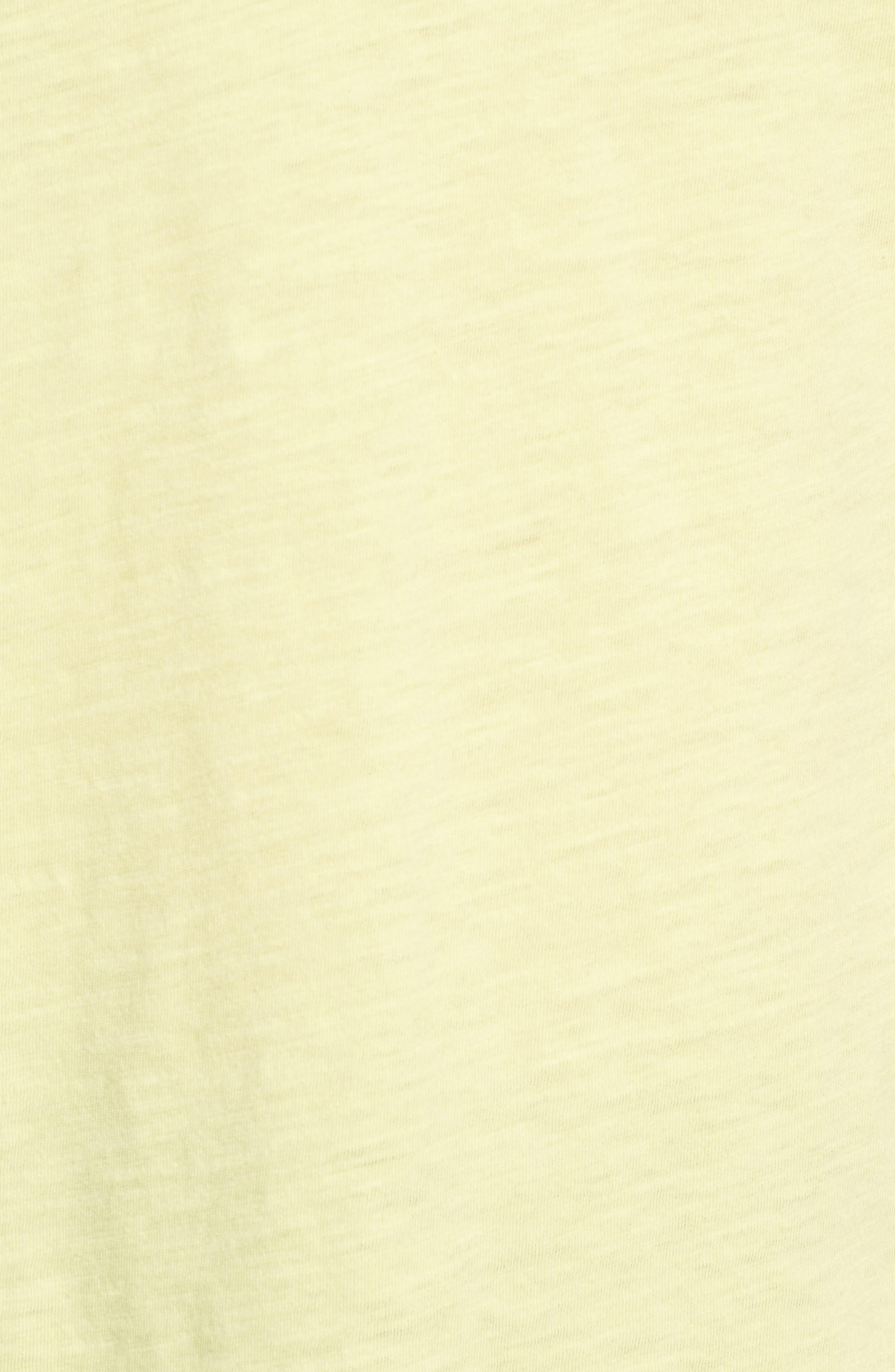 Organic Cotton V-Neck Tee,                             Alternate thumbnail 80, color,