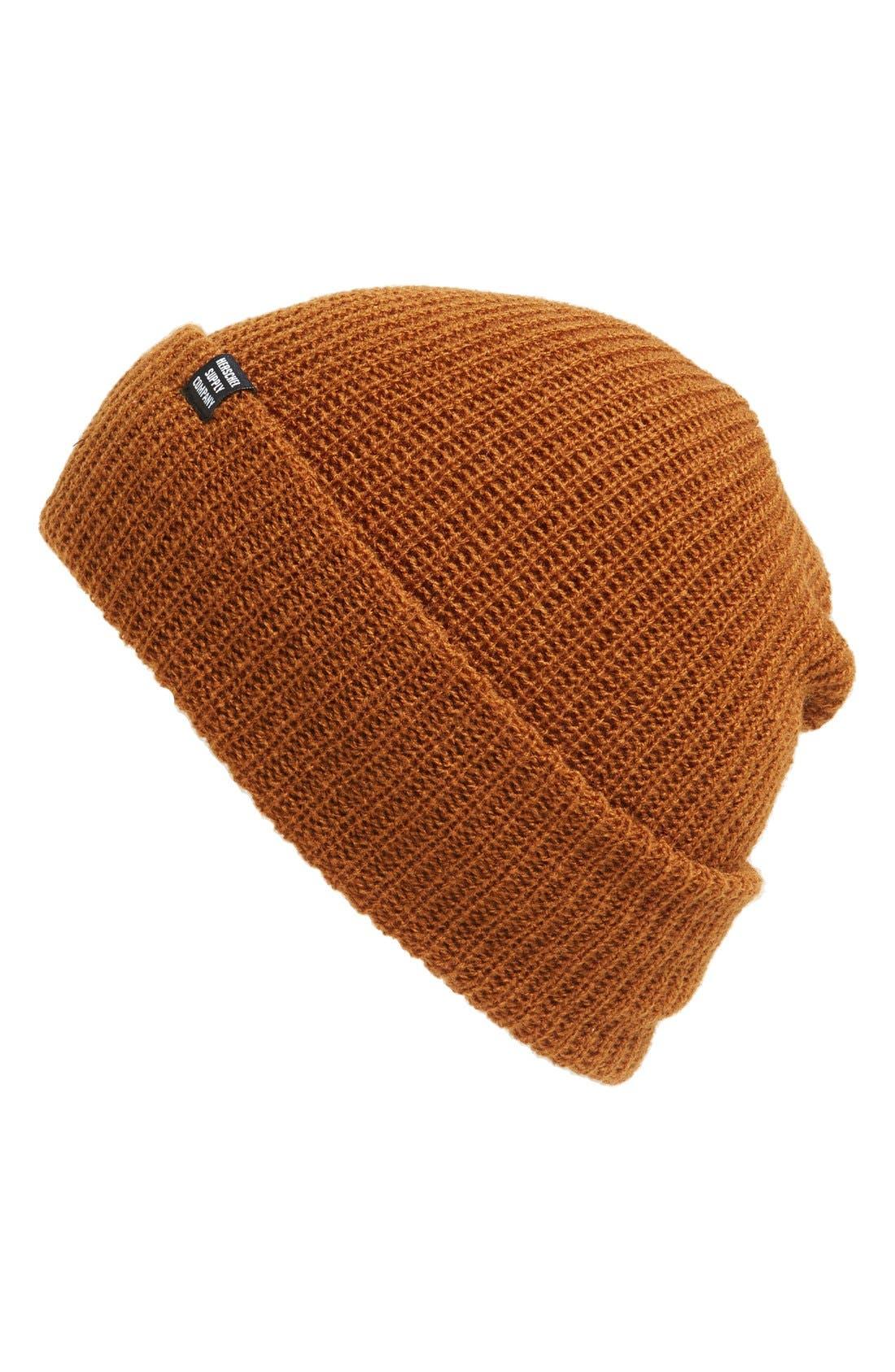 'Quartz' Solid Knit Cap,                             Main thumbnail 4, color,