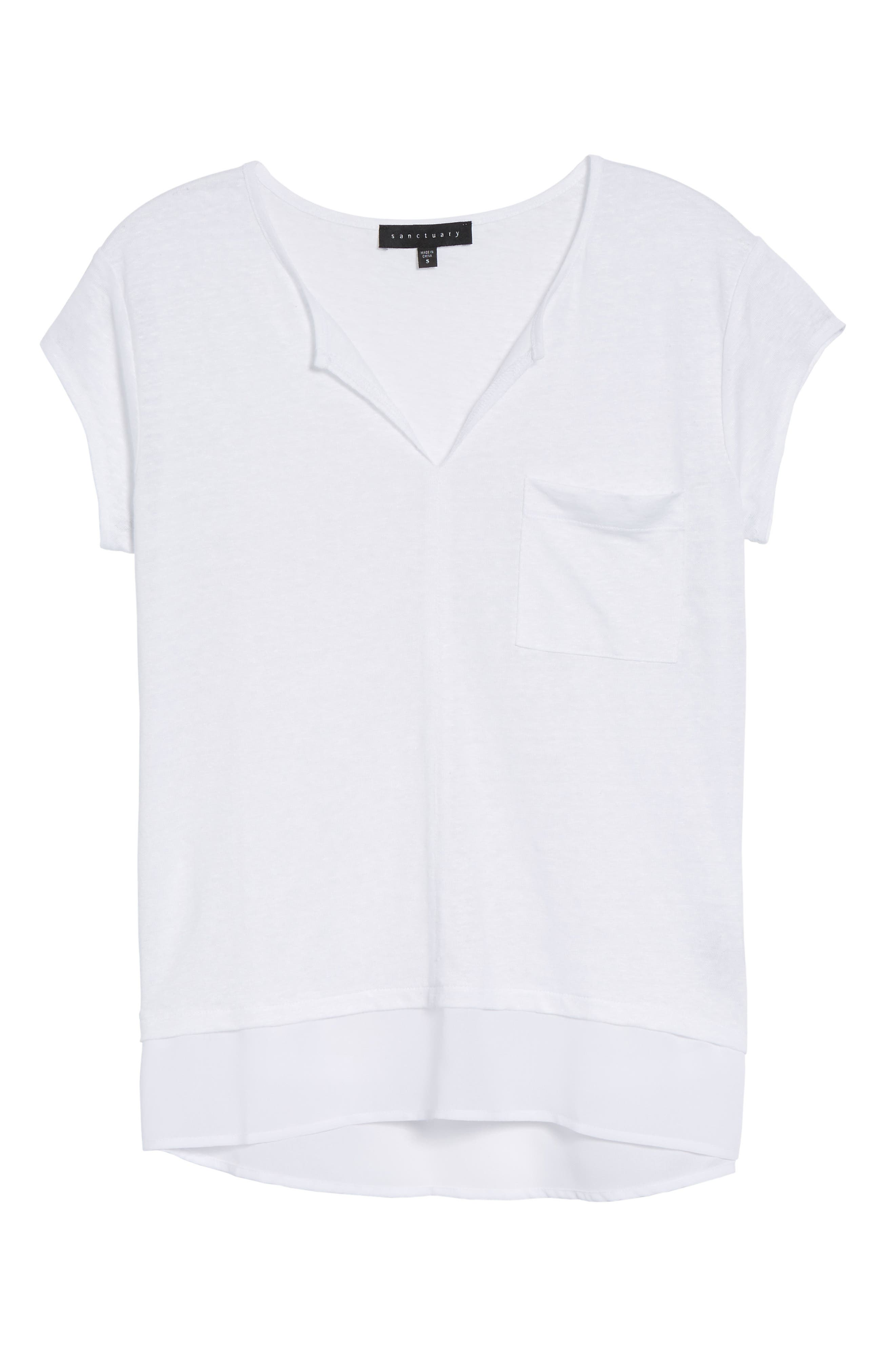 City Mix Layered Look Tee,                             Alternate thumbnail 91, color,