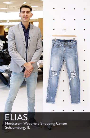 Ripped Knee Skinny Jeans, sales video thumbnail