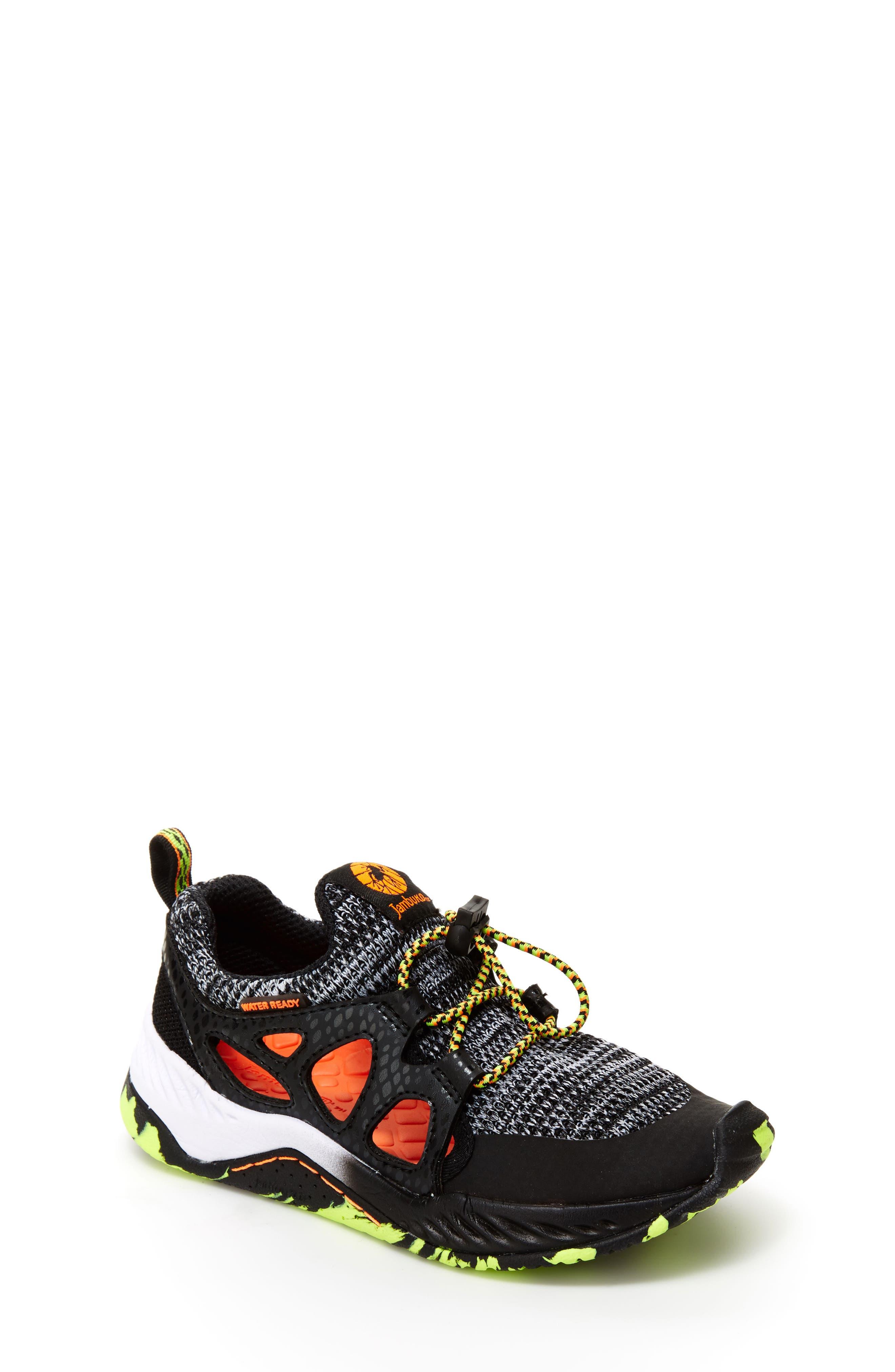Anthozoa Water Friendly Sneaker,                             Main thumbnail 1, color,                             BLACK