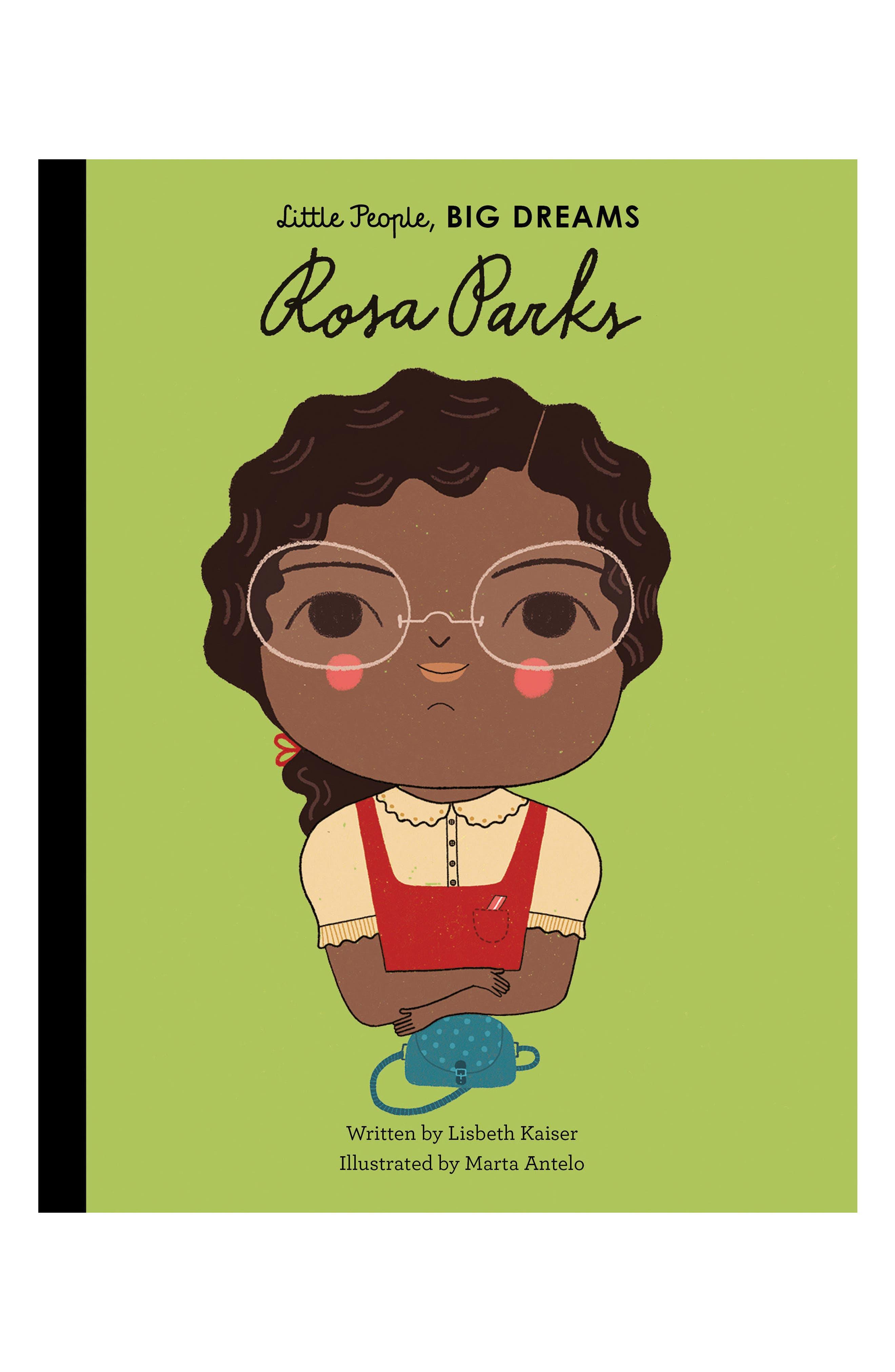 'Little People, Big Dreams: Rosa Parks' Book,                         Main,                         color,