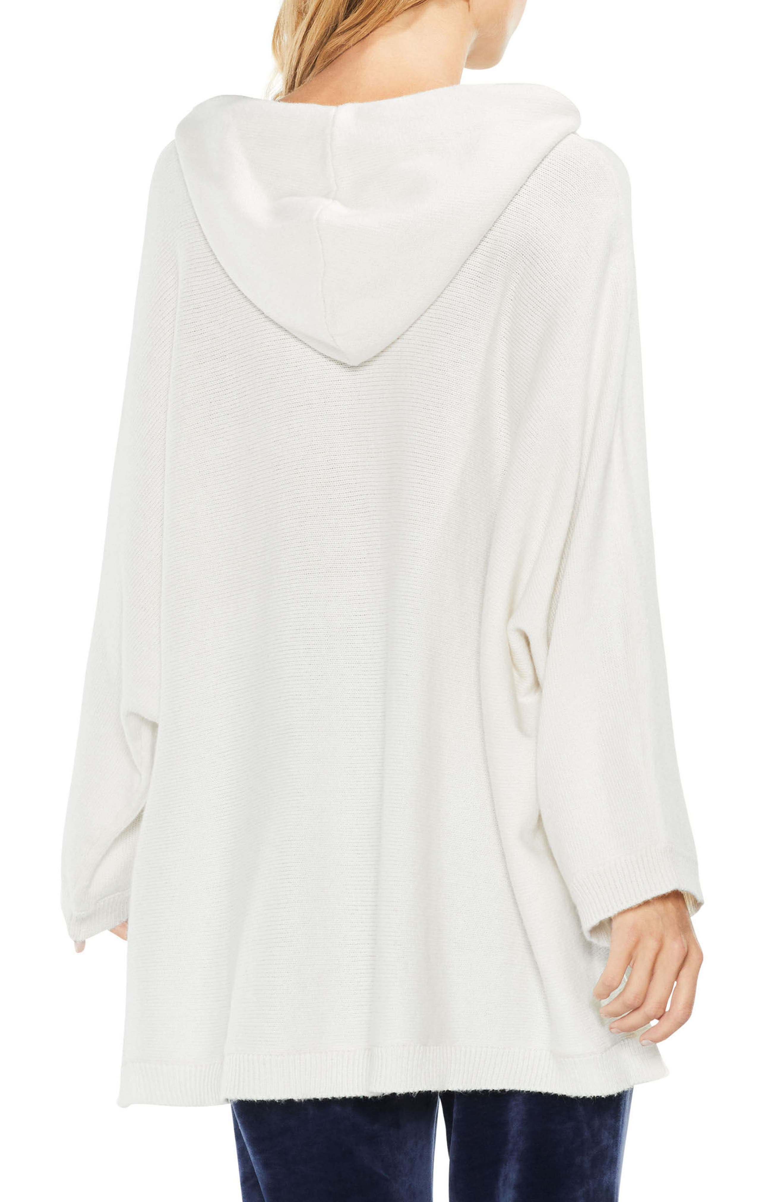 Dolman Sleeve Relaxed Hooded Sweater,                             Alternate thumbnail 4, color,