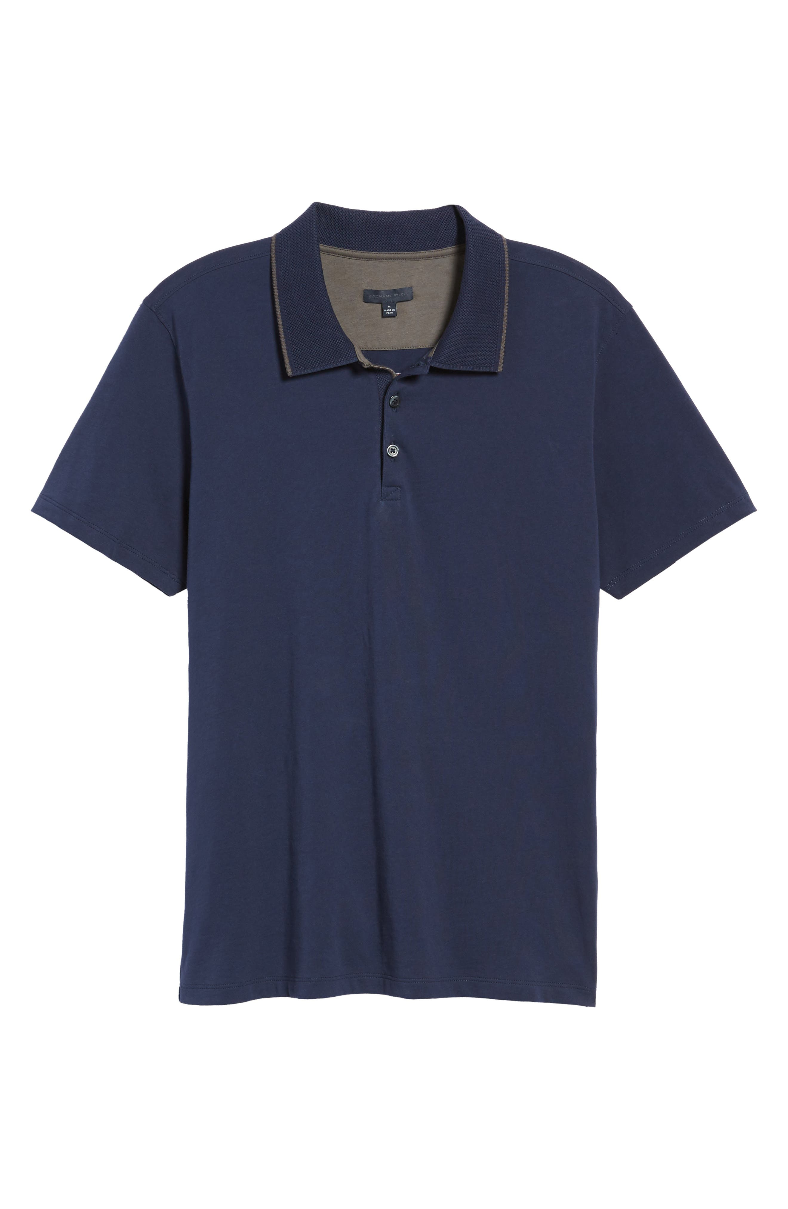 Grindstone Slim Fit Polo,                             Alternate thumbnail 6, color,                             410