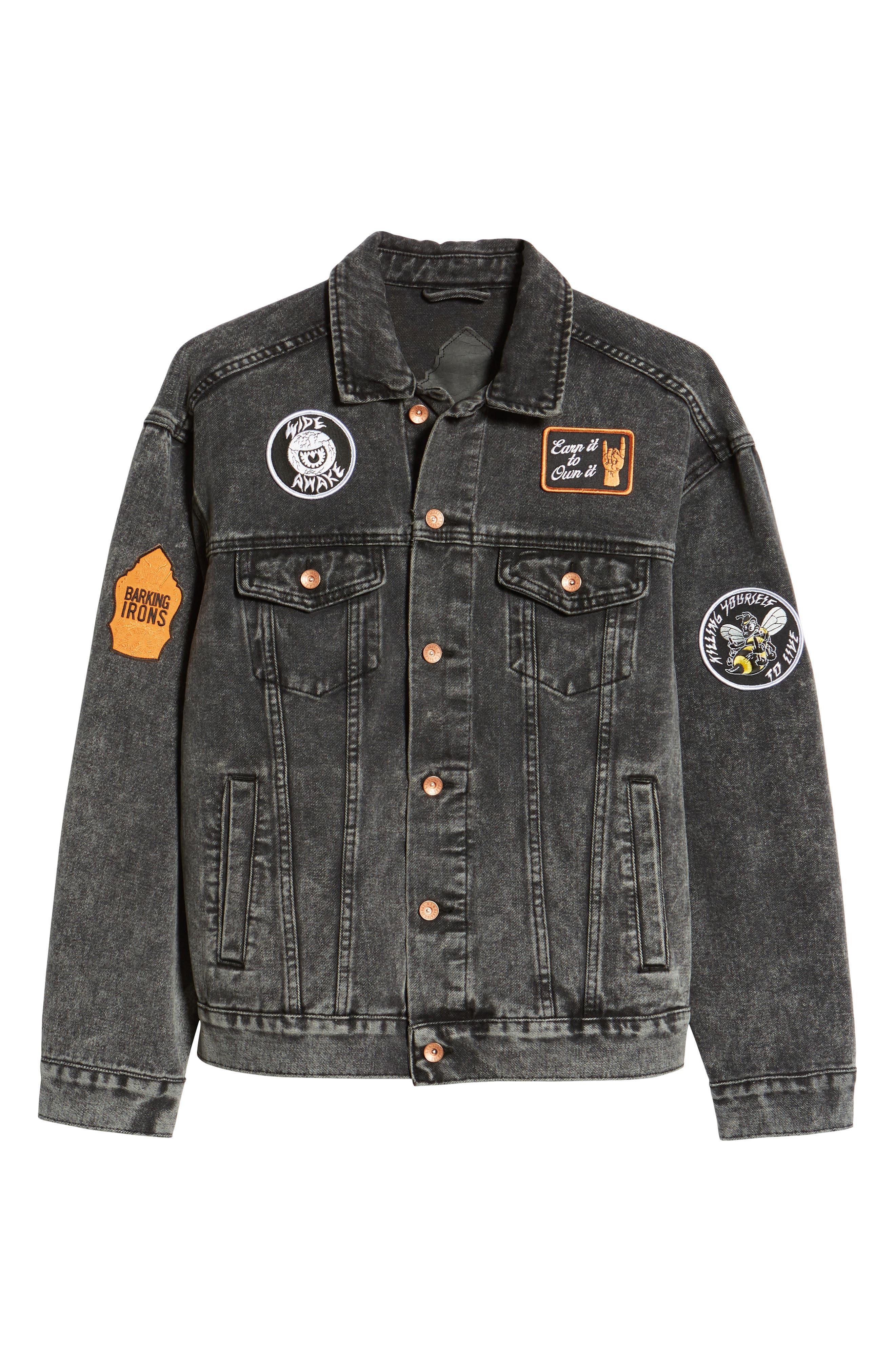 On the Bowery Denim Jacket,                             Alternate thumbnail 5, color,                             020