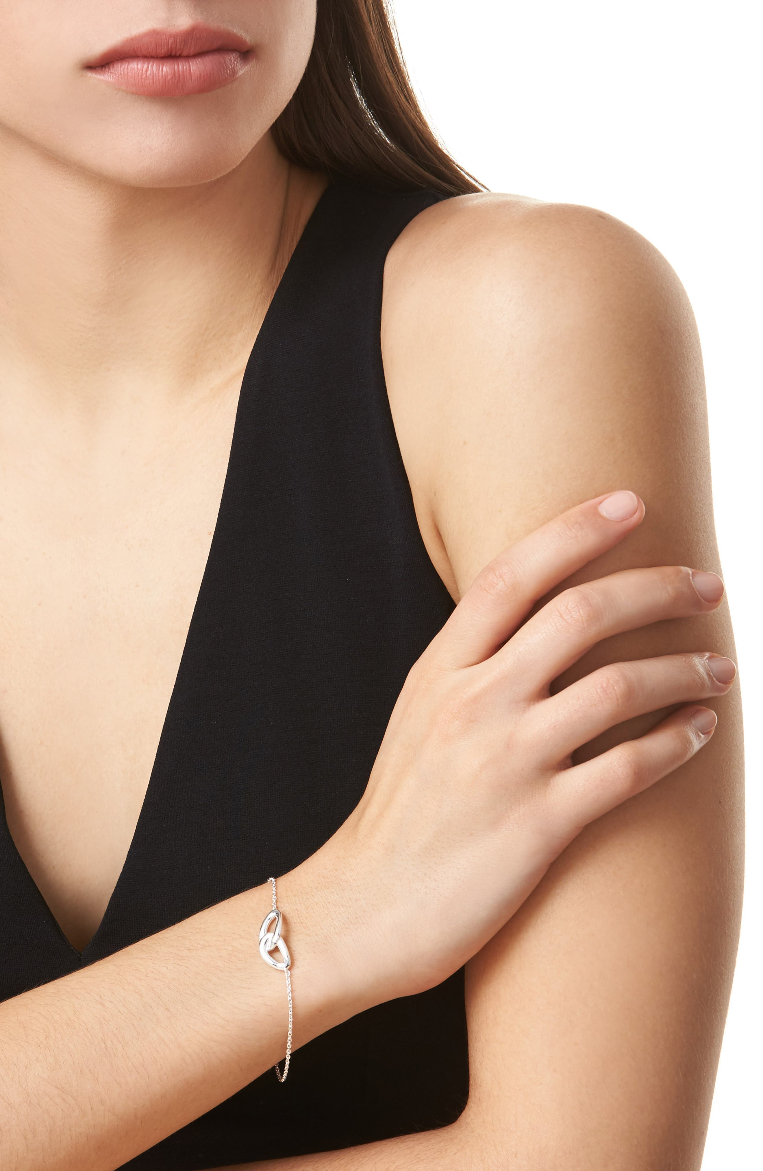 Diamond Bracelet,                             Alternate thumbnail 2, color,                             SILVER