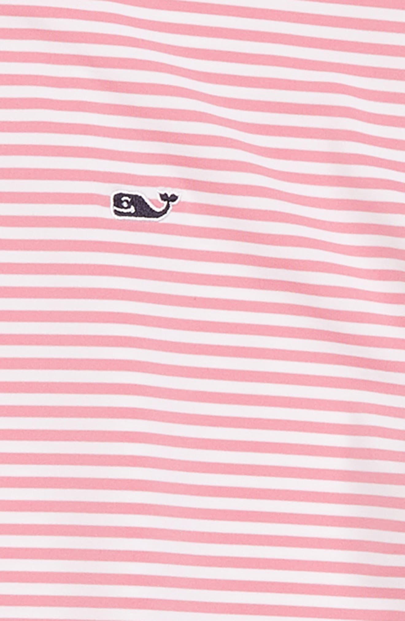 Feeder Stripe Performance Polo,                             Alternate thumbnail 9, color,