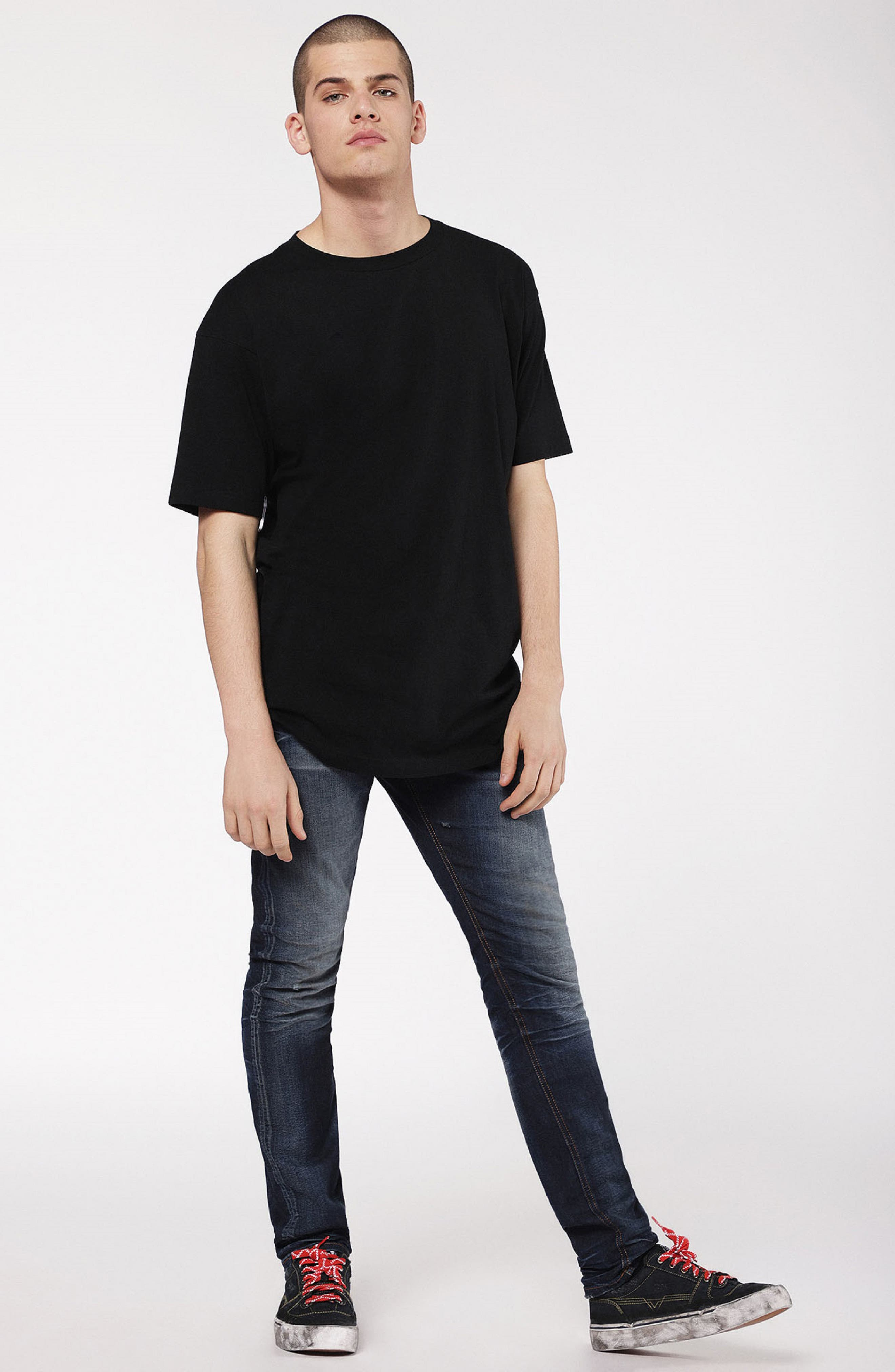Larkee Relaxed Fit Jeans,                             Alternate thumbnail 5, color,                             400