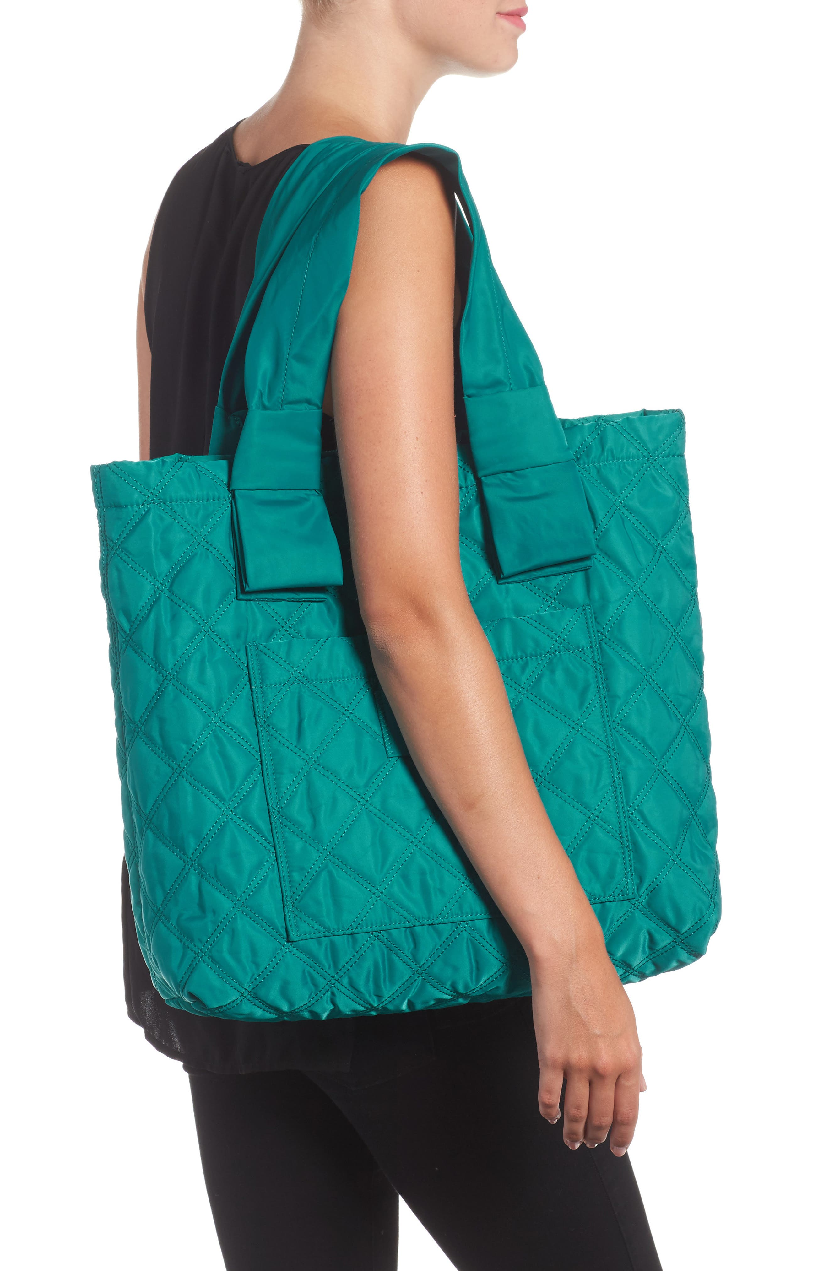 Knot Tote,                             Alternate thumbnail 6, color,