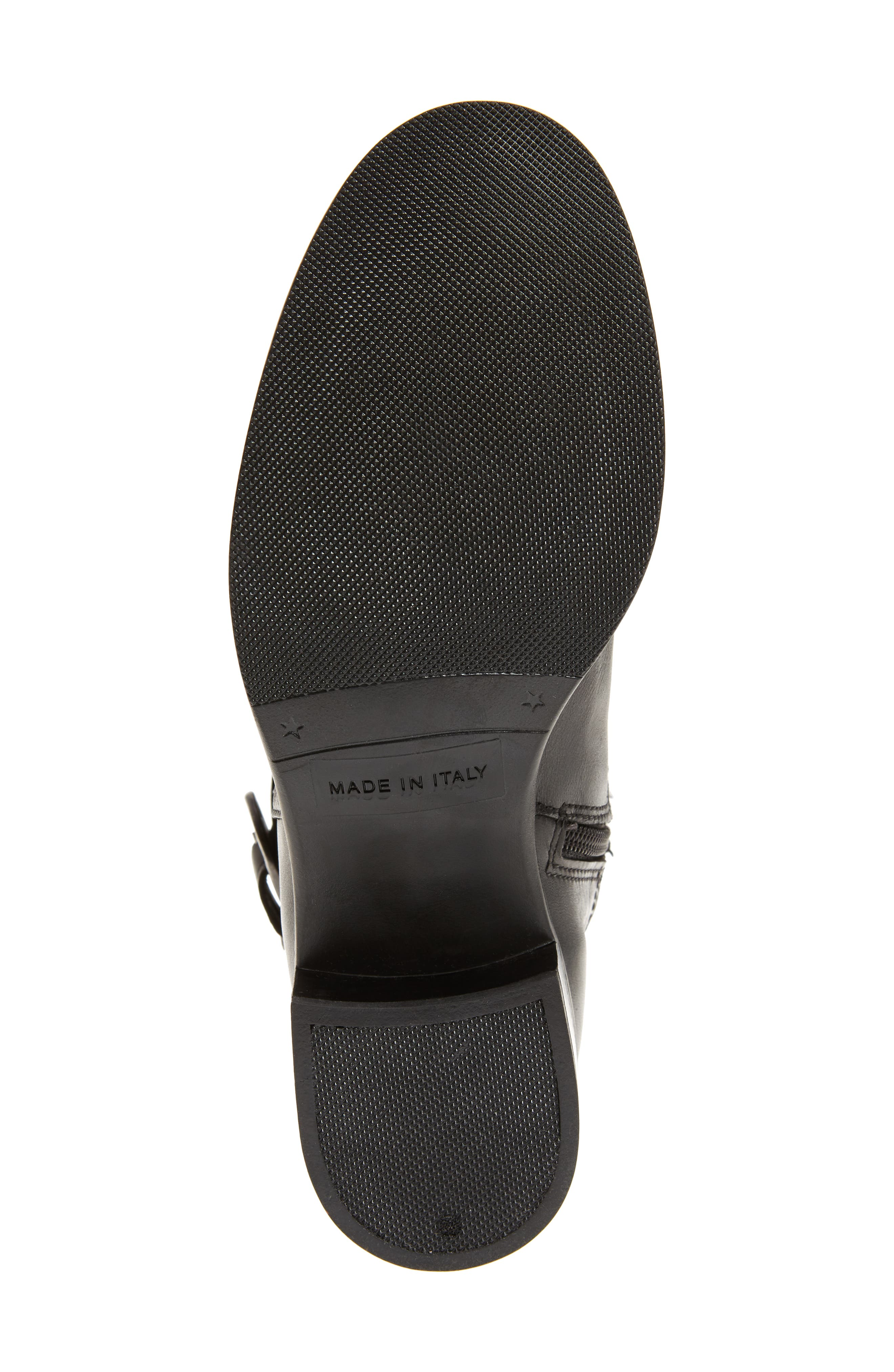 Amalfi 16 Boot,                             Alternate thumbnail 6, color,                             BLACK LEATHER