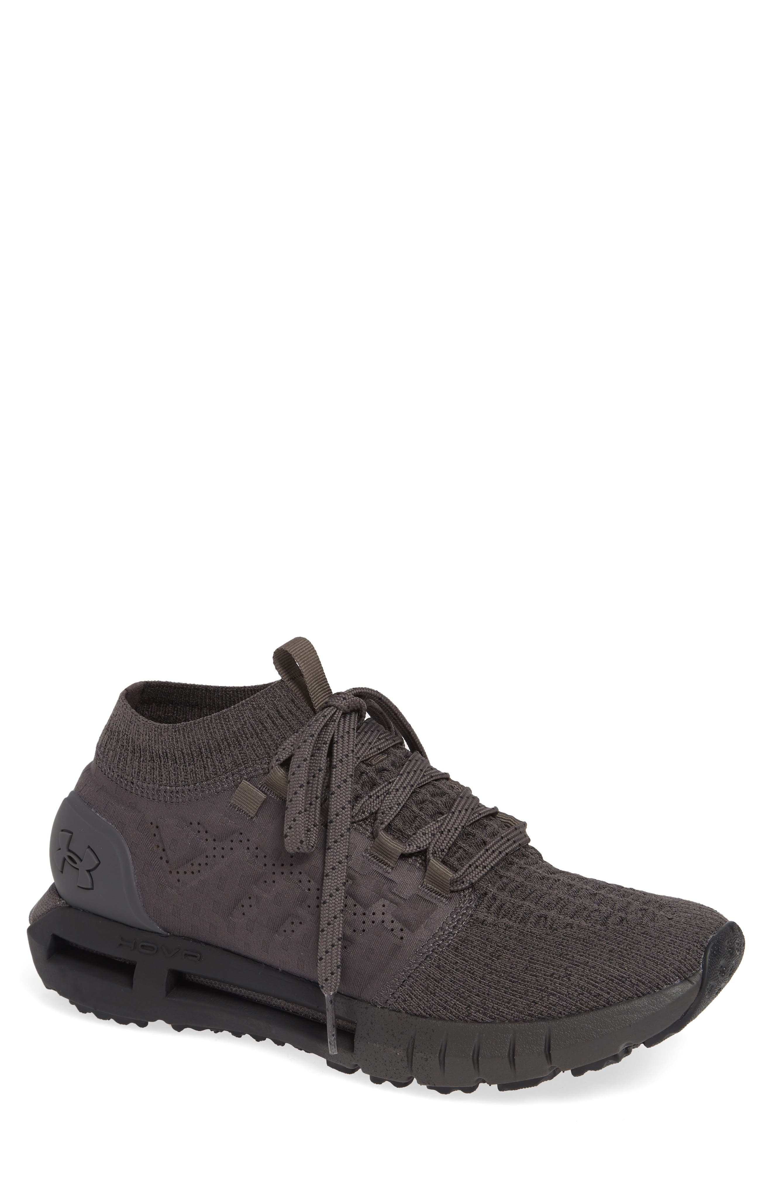UNDER ARMOUR Men'S Hovr Phantom Running Sneakers From Finish Line in Charcoal / Black / Charco