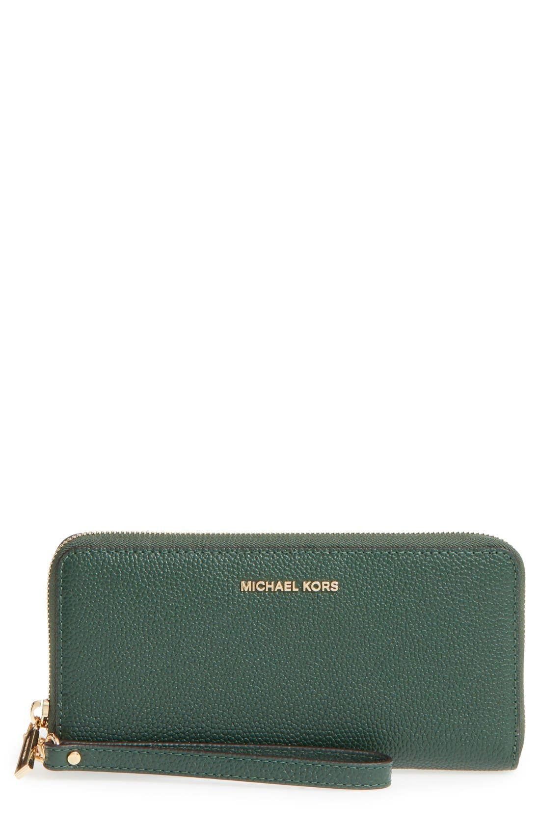 'Mercer' Leather Continental Wallet,                             Main thumbnail 6, color,