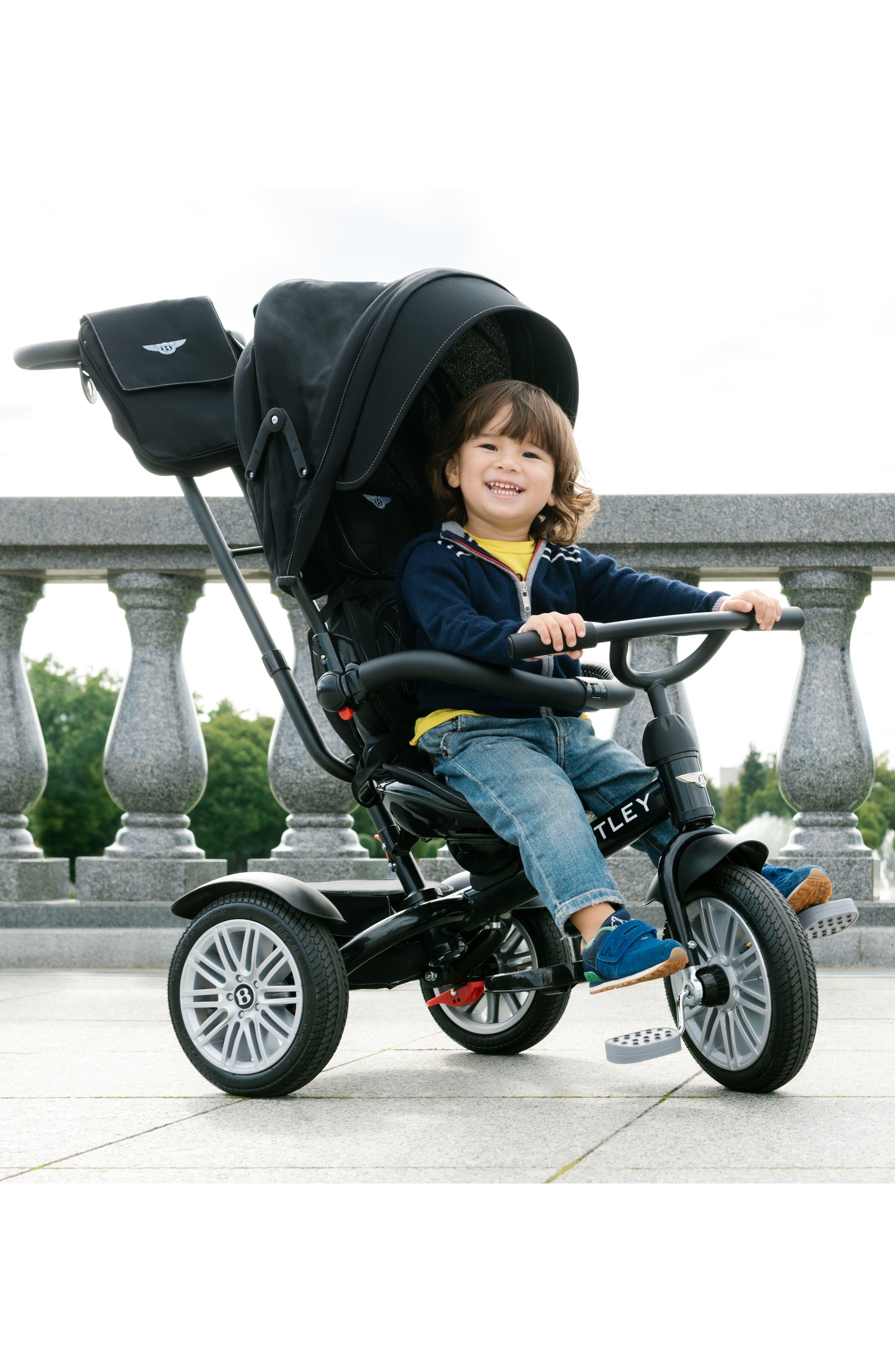 Bentley 6-in-1 Stroller/Trike,                             Alternate thumbnail 9, color,                             ONYX BLACK