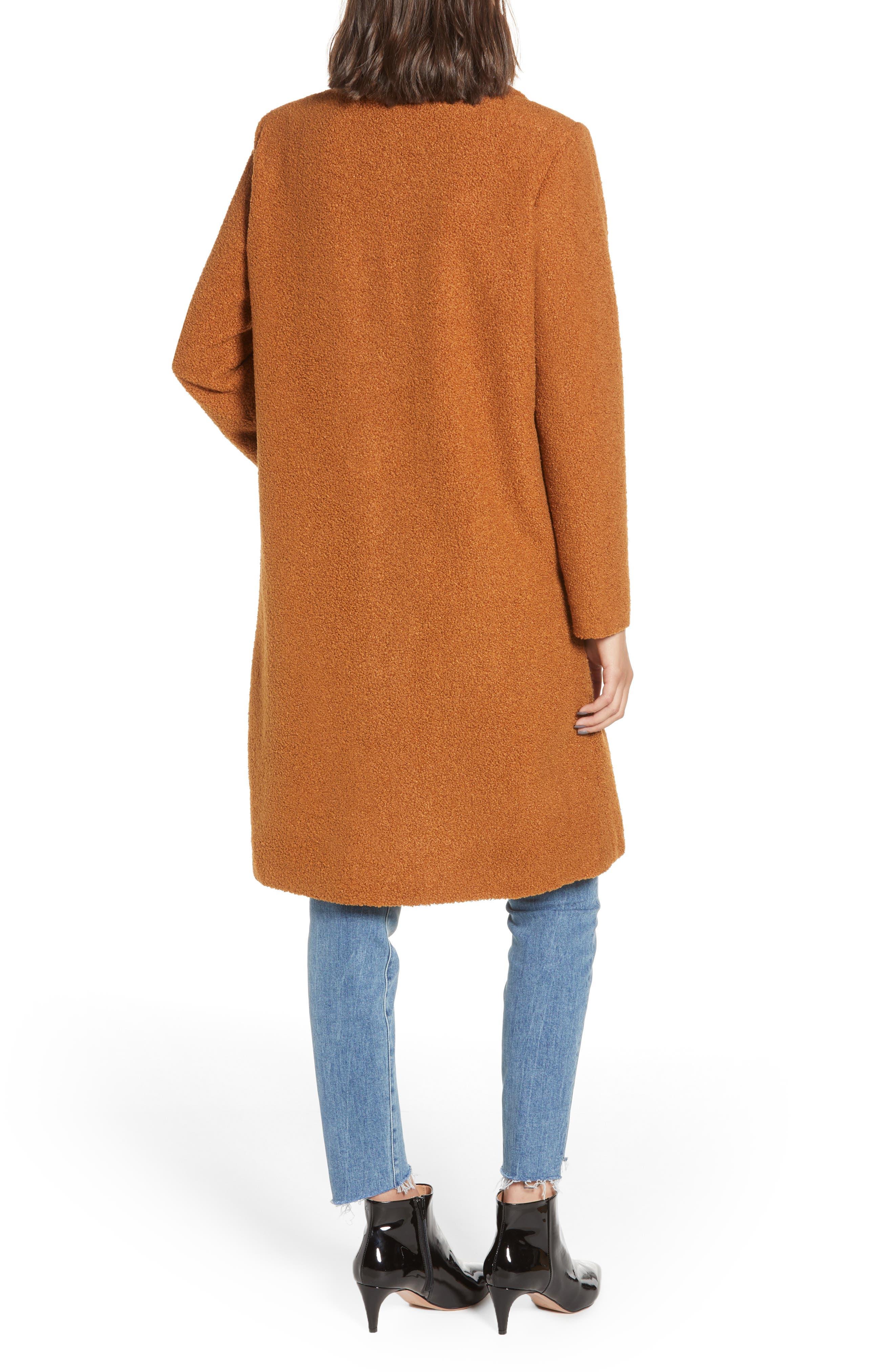 Teddy Bear Coat,                             Alternate thumbnail 2, color,                             MOCHA