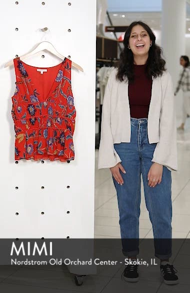 Lucy Floral Top, sales video thumbnail