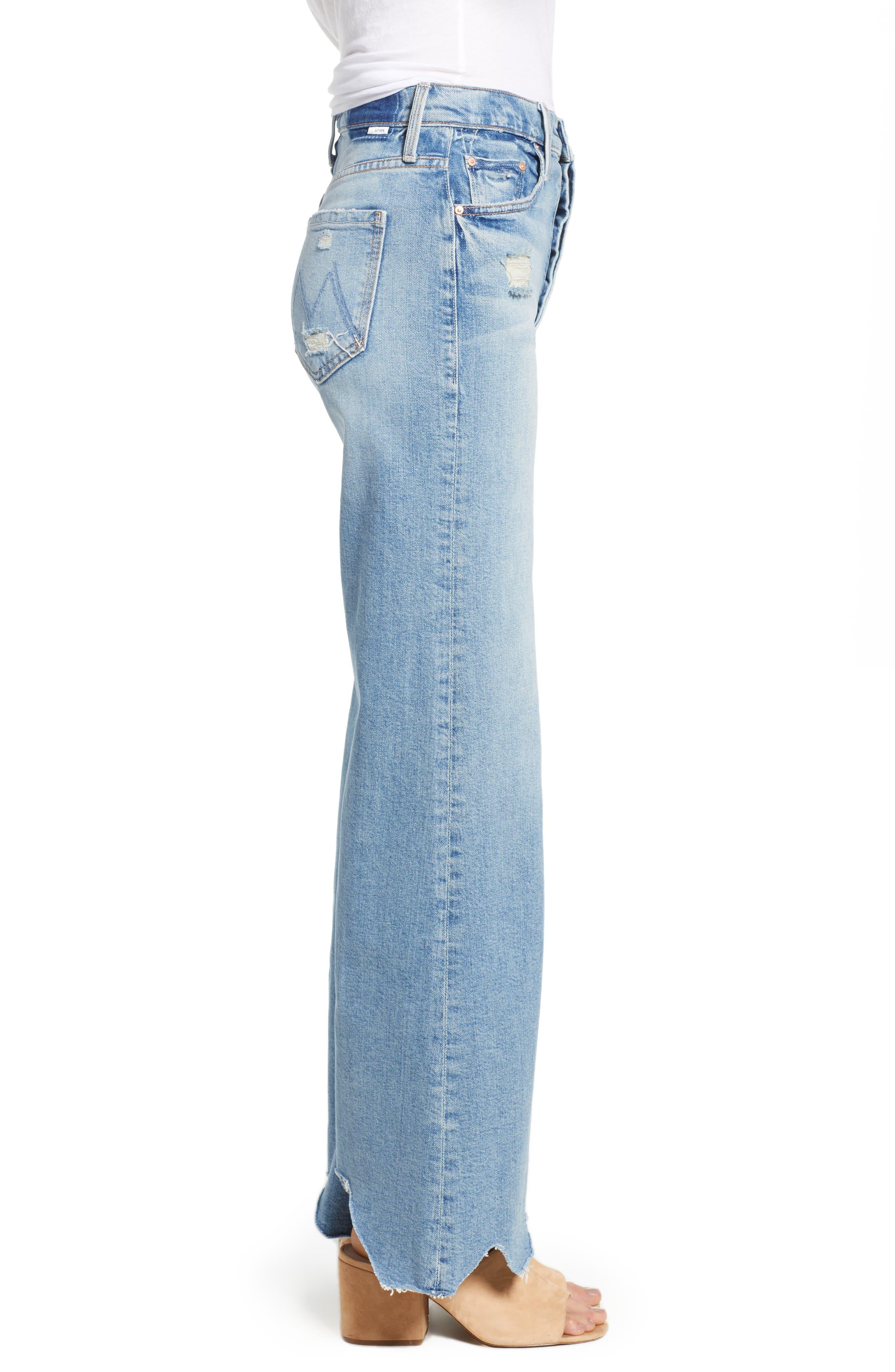 Tomcat Roller Chew Hem Jeans,                             Alternate thumbnail 3, color,                             420