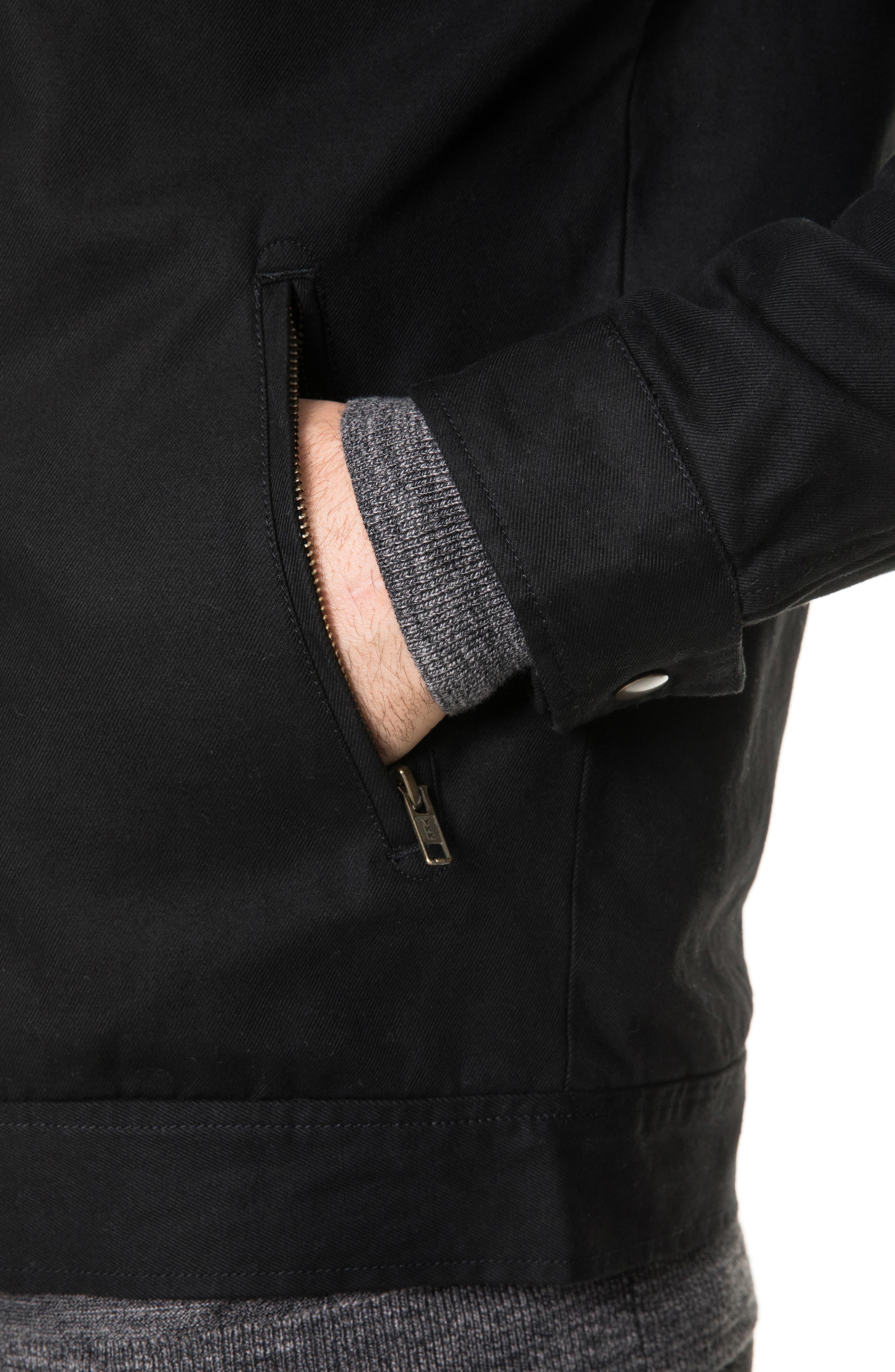 Campbell Point Jacket,                             Alternate thumbnail 4, color,                             NAVY