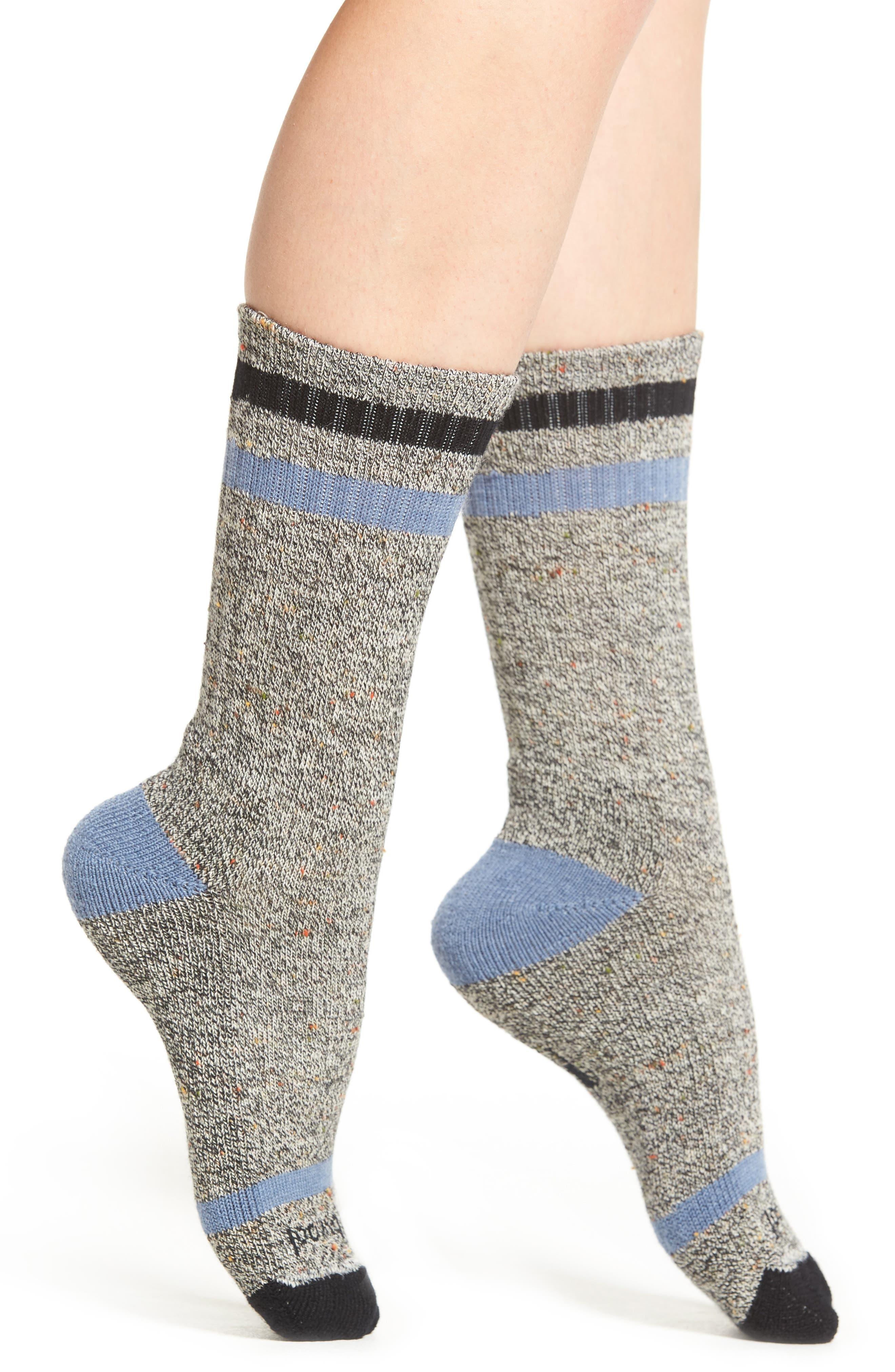 Birkie Crew Socks,                         Main,                         color, BLACK