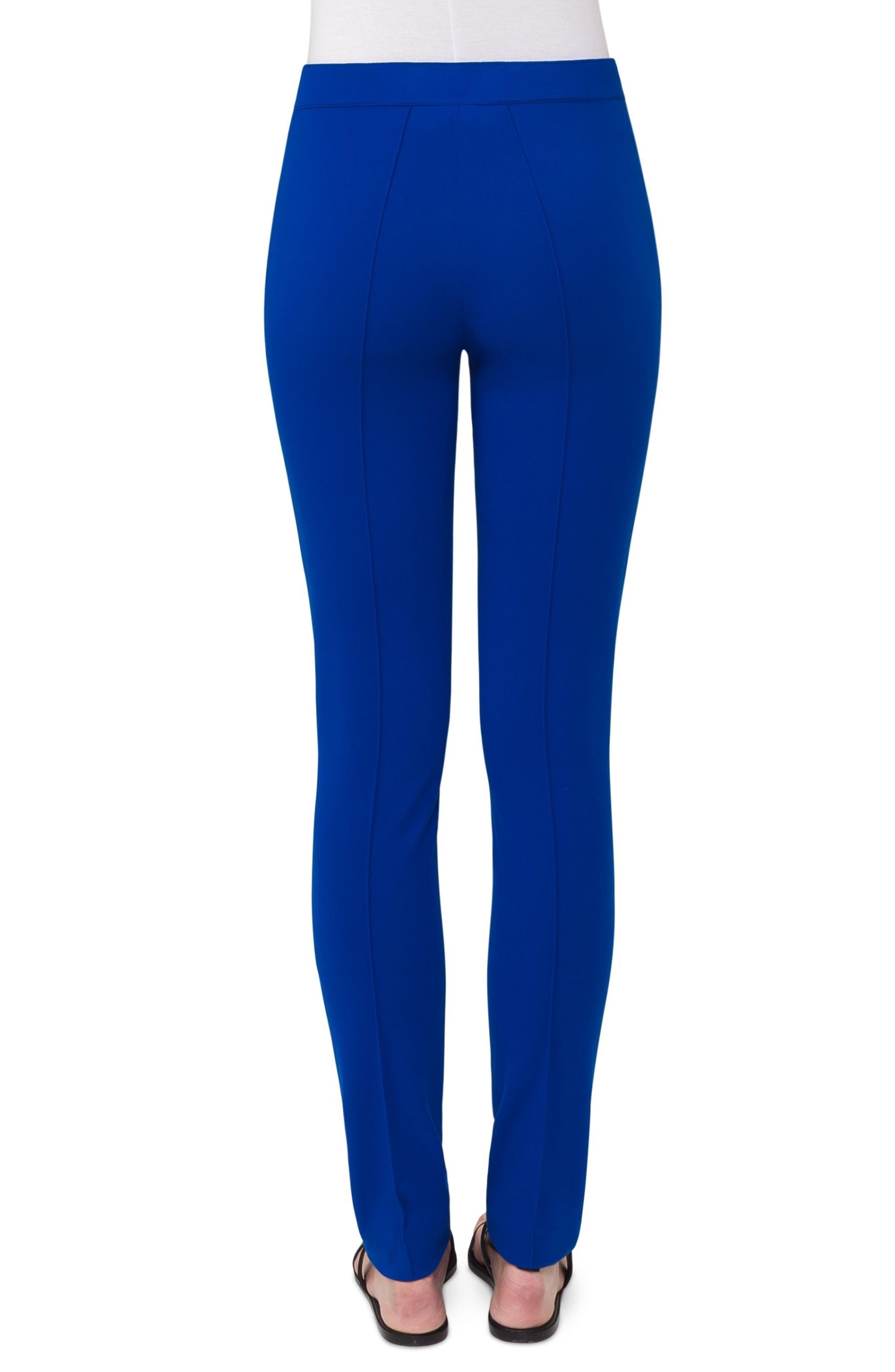 Mara Stretch Jersey Skinny Pants,                             Alternate thumbnail 3, color,