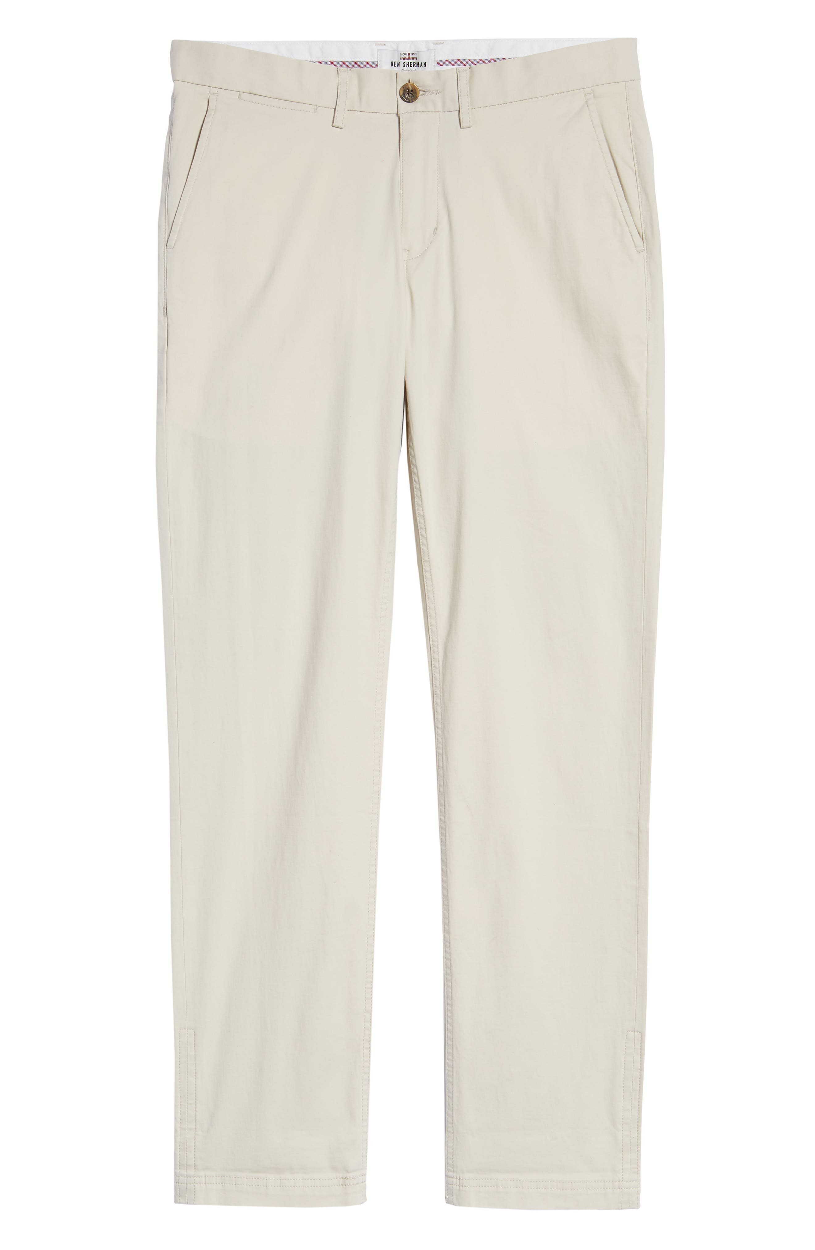 Slim Fit Stretch Chinos,                             Alternate thumbnail 6, color,                             270