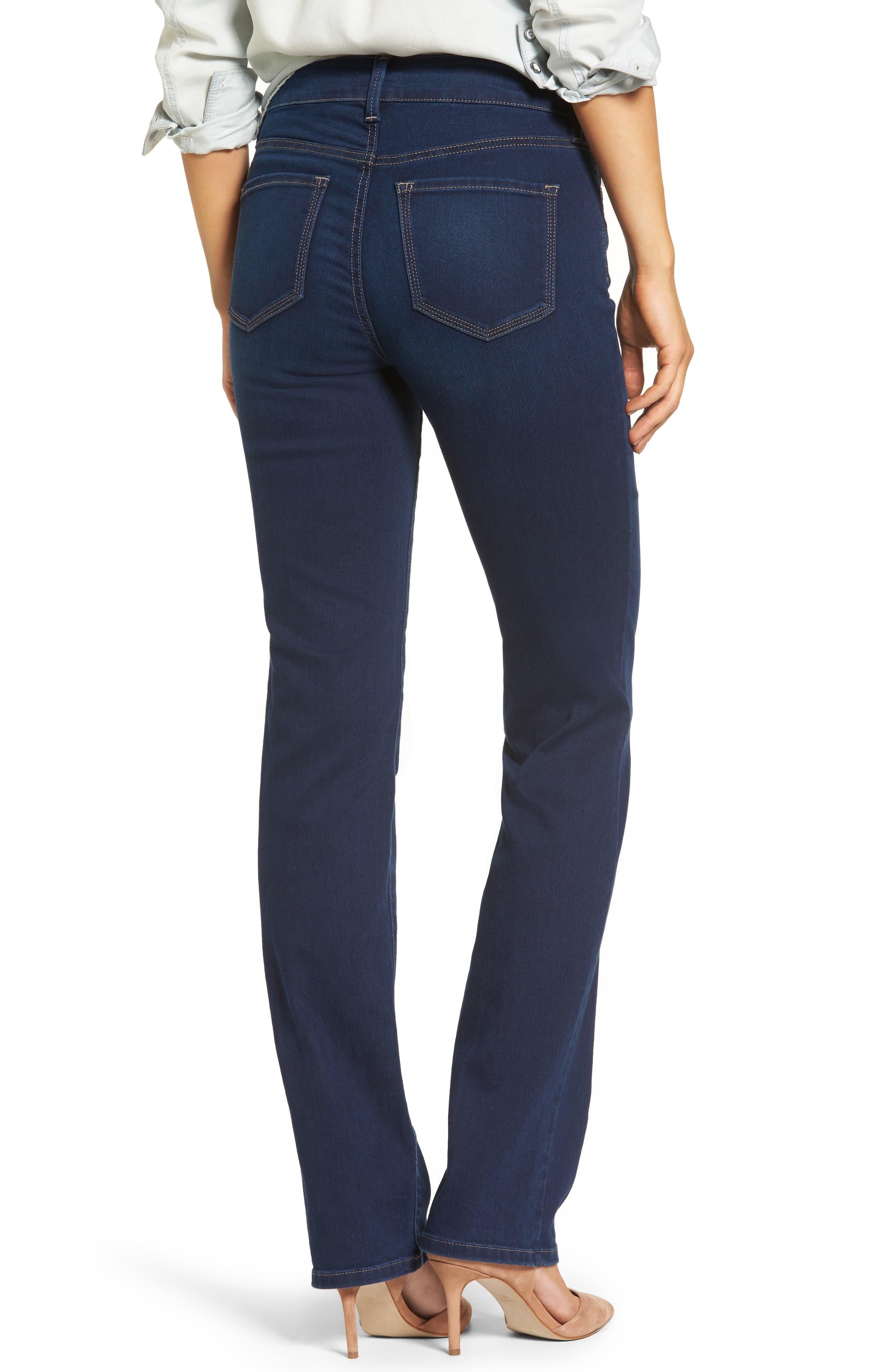 Marilyn Stretch Straight Leg Jeans,                             Alternate thumbnail 2, color,                             402