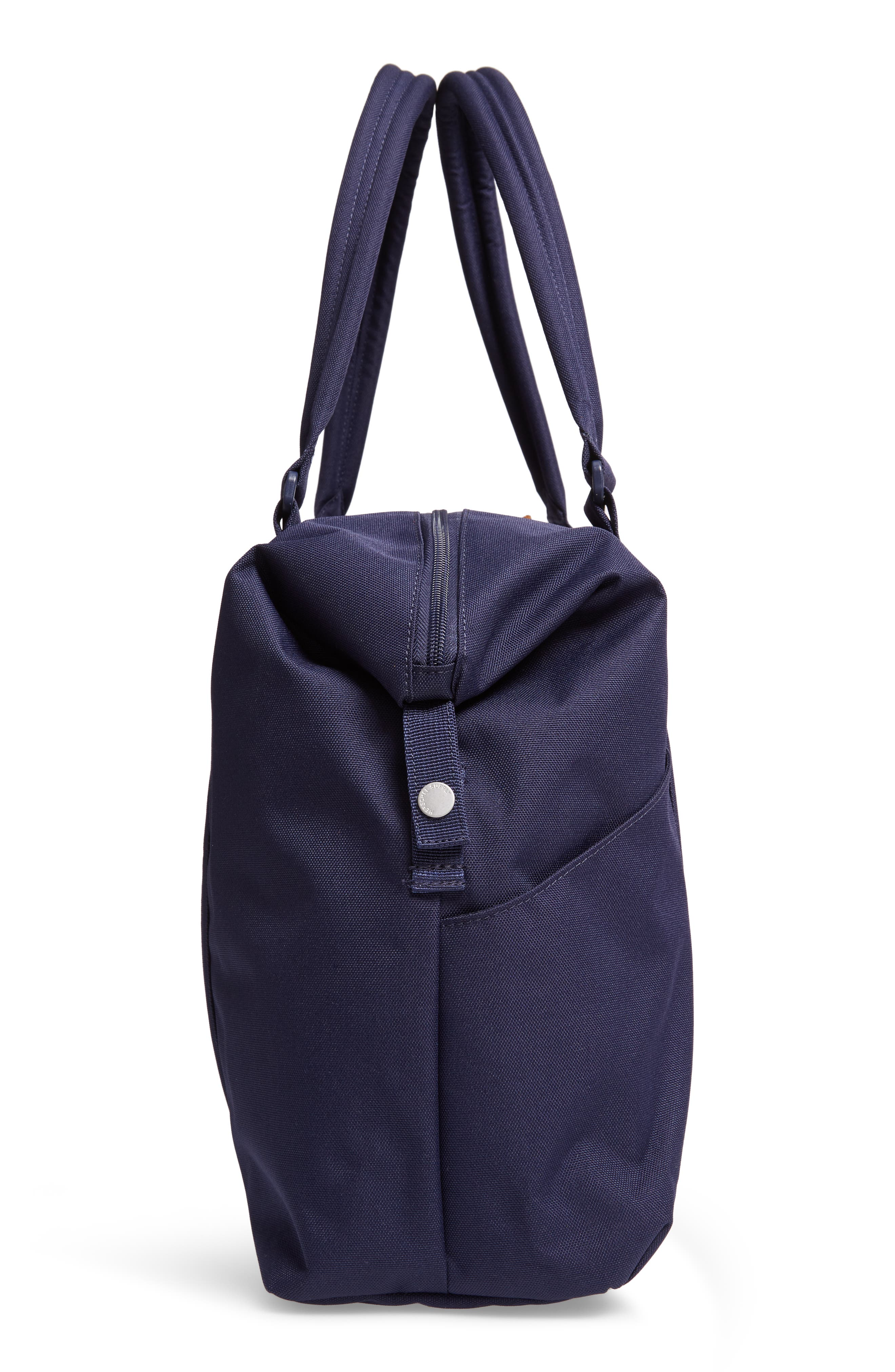 Strand Duffel Bag,                             Alternate thumbnail 5, color,                             PEACOAT