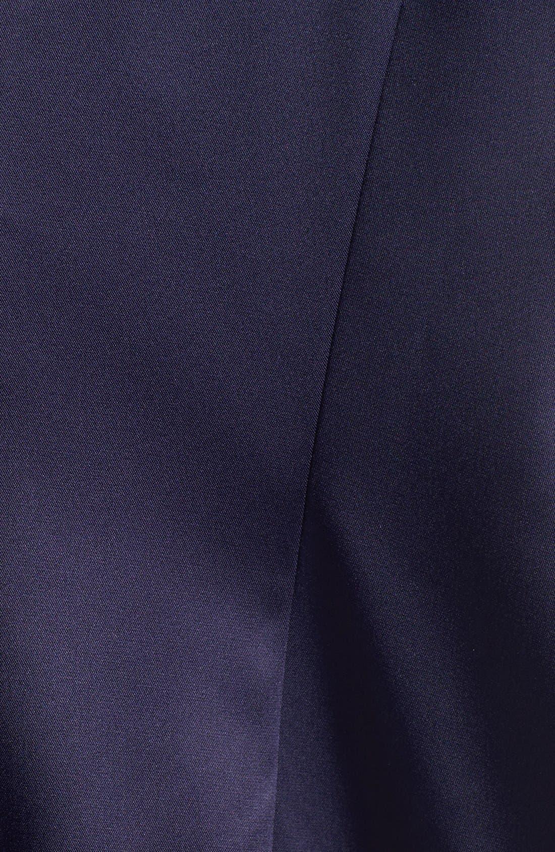 Embellished Side Ruched Sheath Dress,                             Alternate thumbnail 7, color,