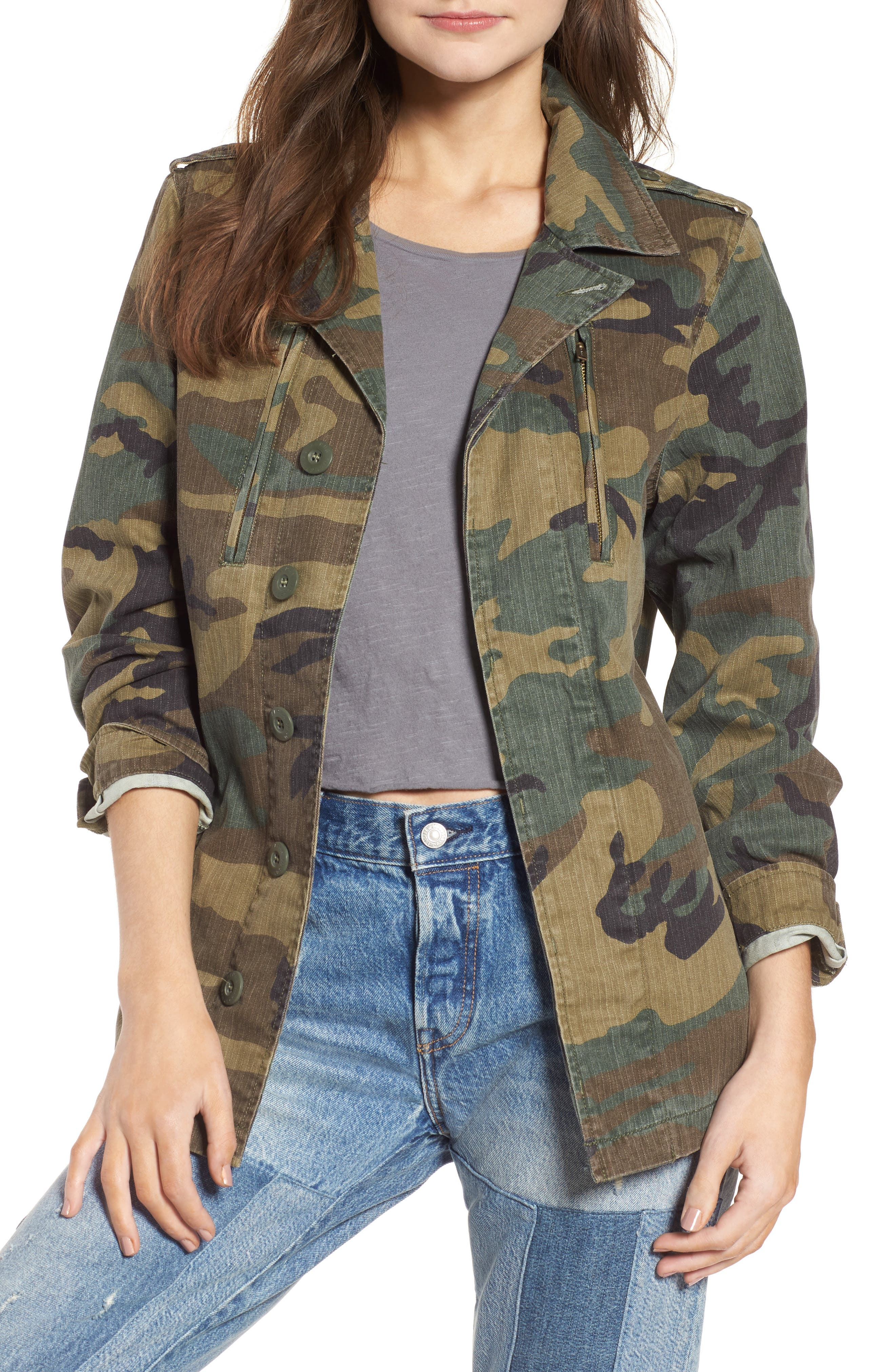 F-2 French Field Coat,                             Main thumbnail 1, color,                             361