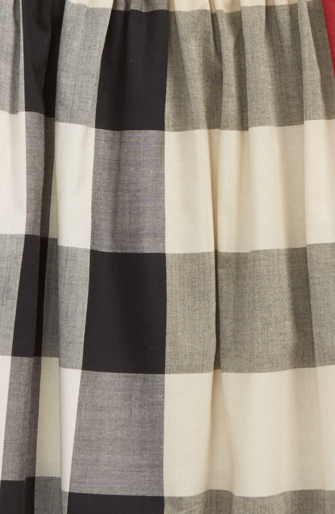 'Ariadne' Check Woven Dress,                             Alternate thumbnail 2, color,                             272