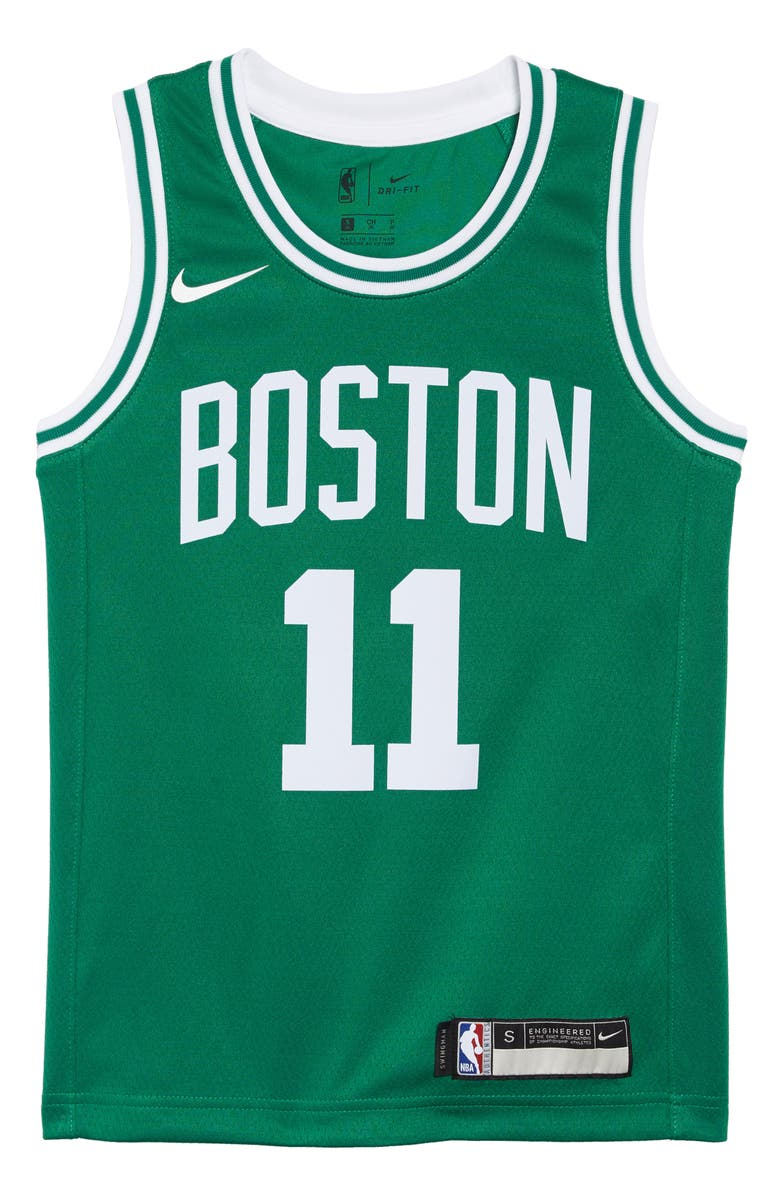 f4f7b6bd2 Nike Boston Celtics Kyrie Irving Basketball Jersey (Big Boys ...