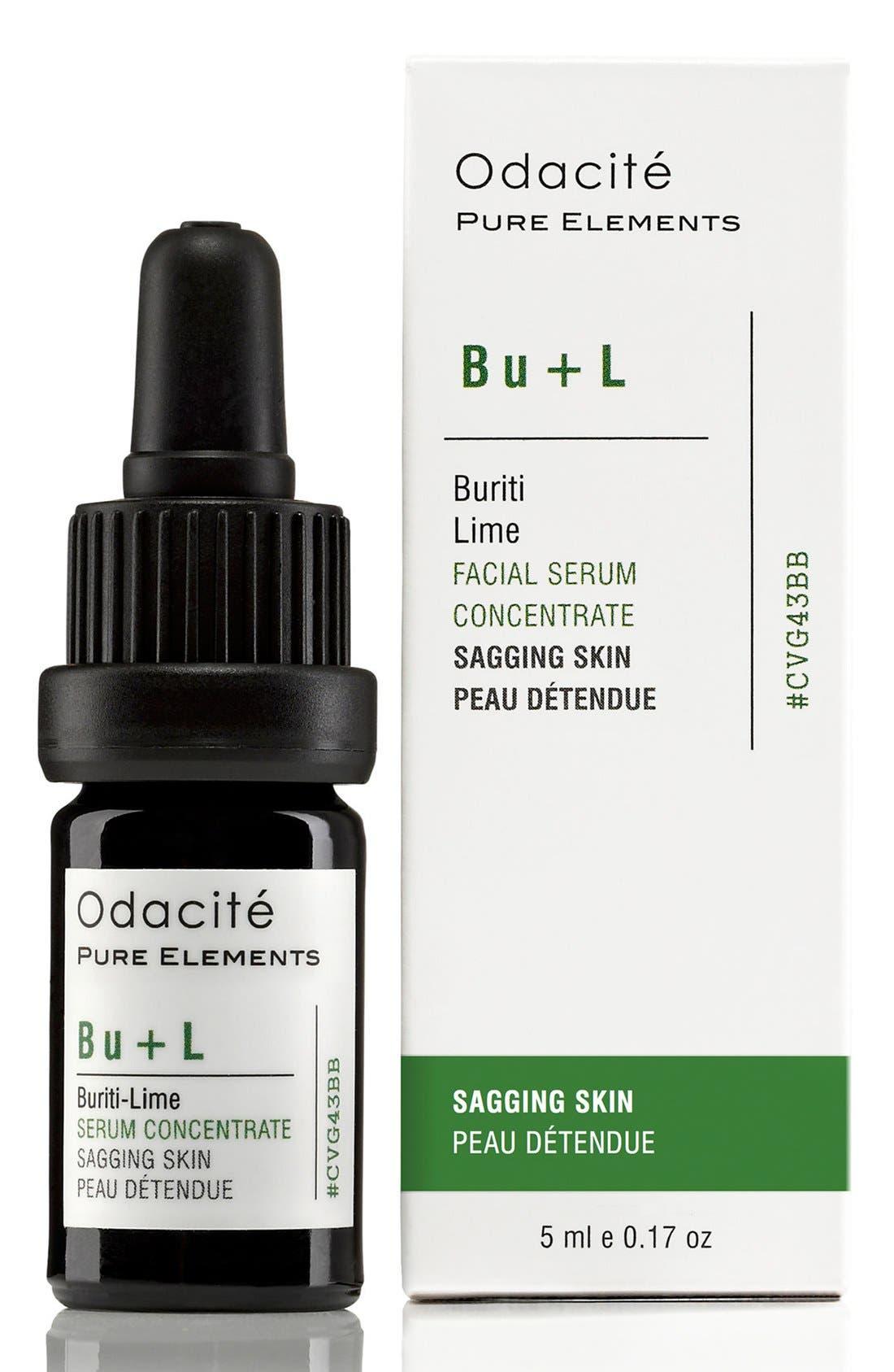 Bu + L Buriti-Lime Sagging Skin Facial Serum Concentrate,                             Alternate thumbnail 3, color,                             NO COLOR