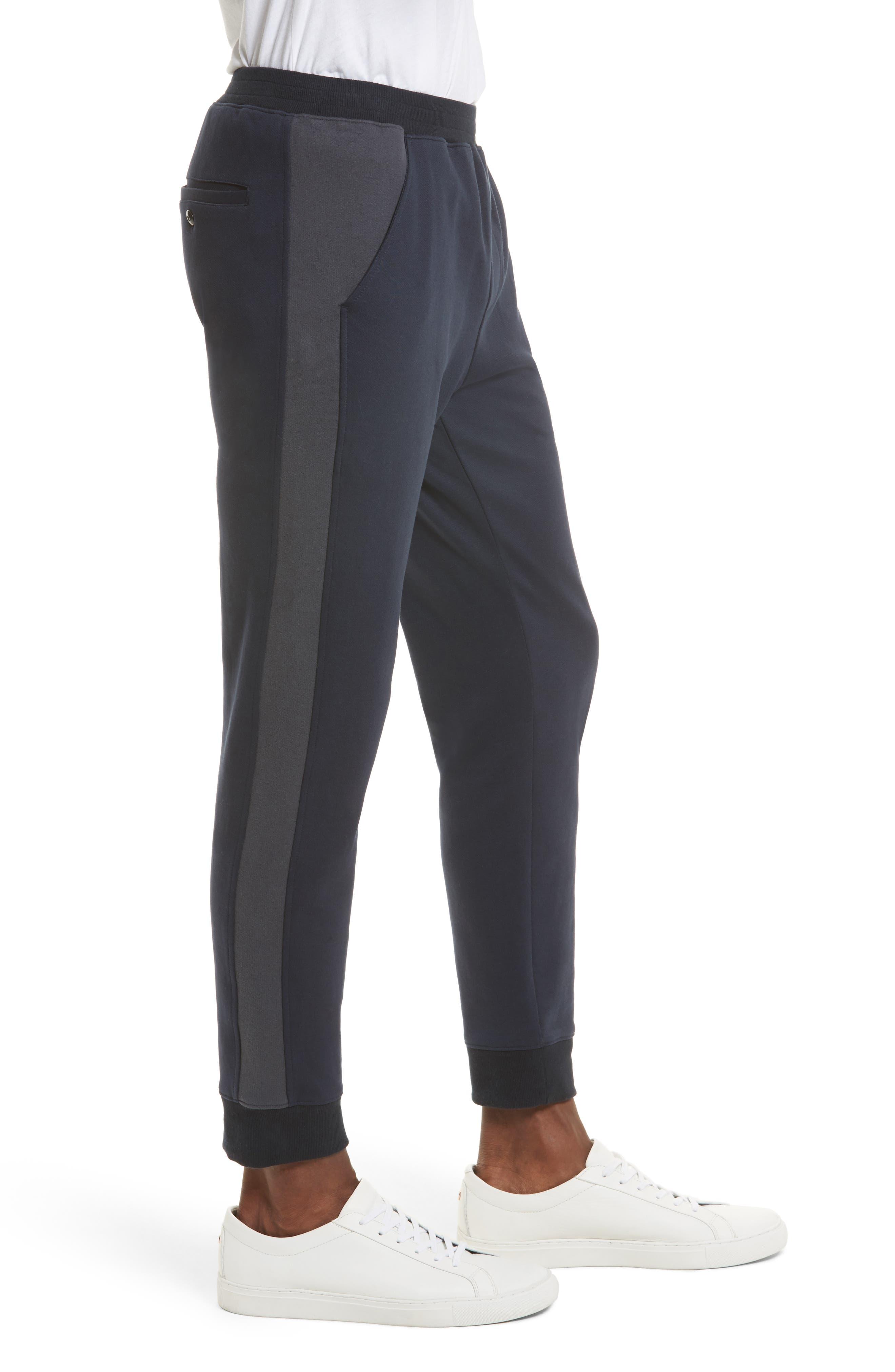 Double Knit Jogger Pants,                             Alternate thumbnail 4, color,                             410