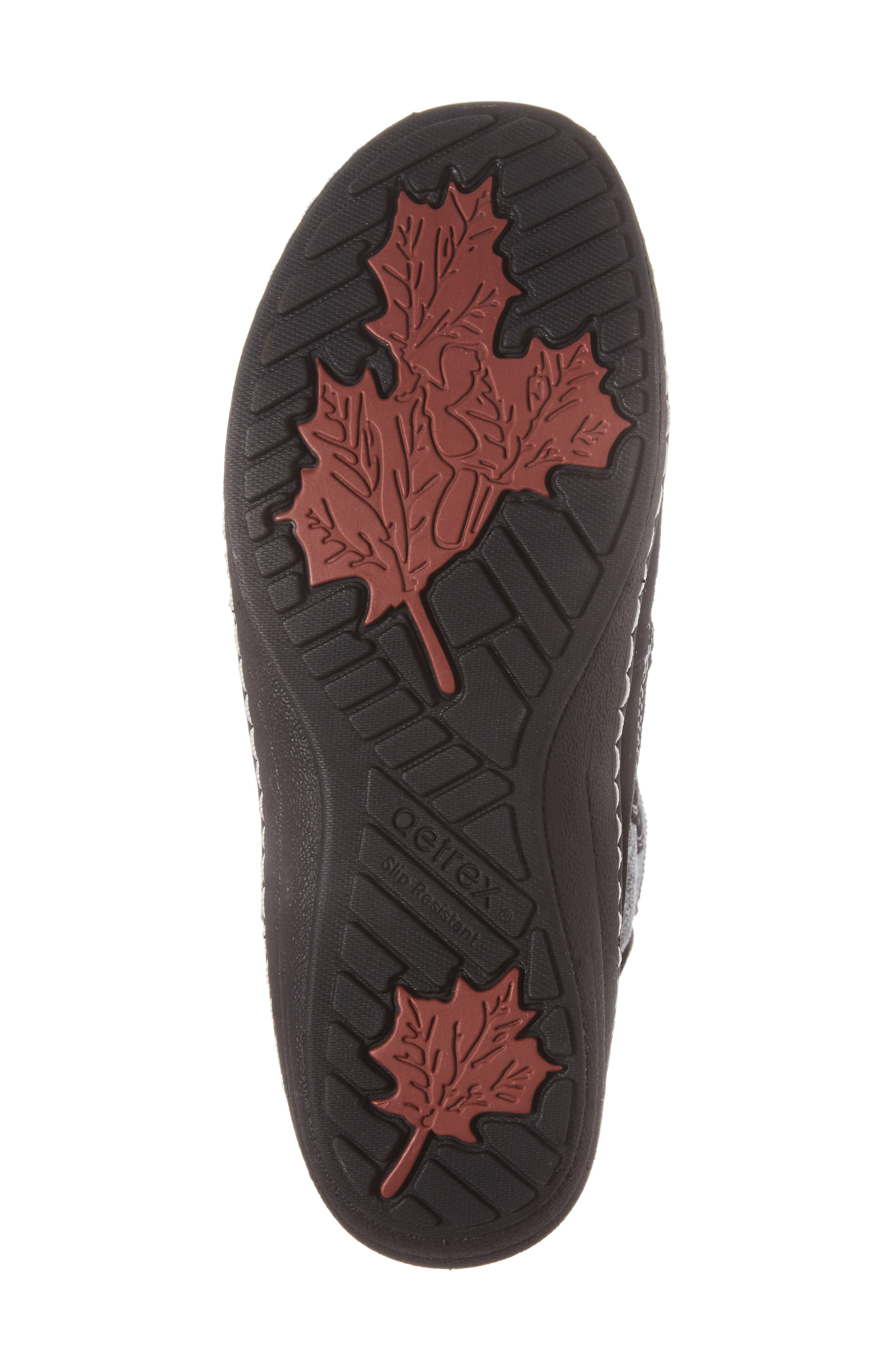 Berries Water Resistant Boot,                             Alternate thumbnail 6, color,                             MULTIBERRY SUEDE