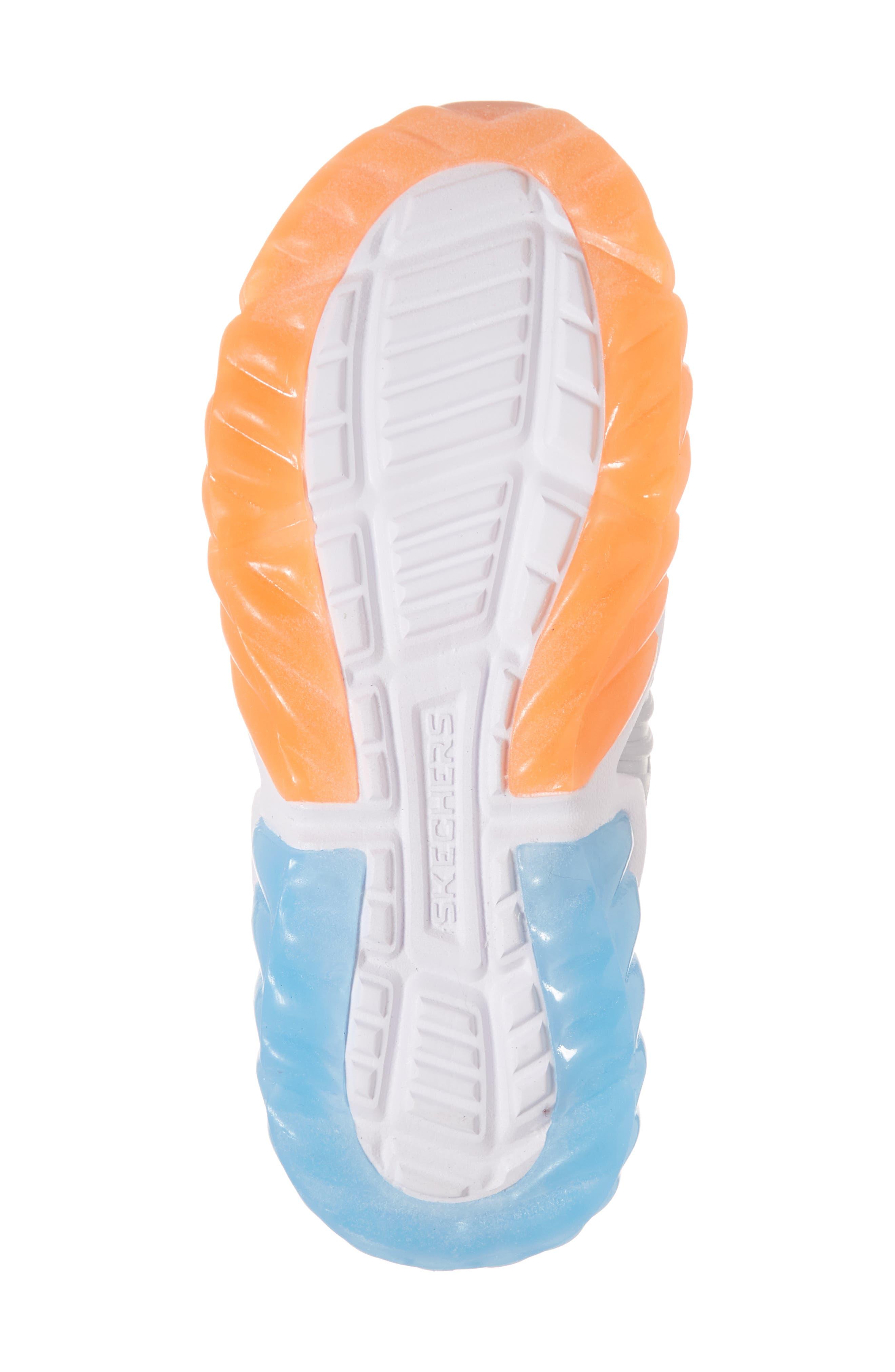 Rapid Flash Light-Up Sneaker,                             Alternate thumbnail 6, color,                             001