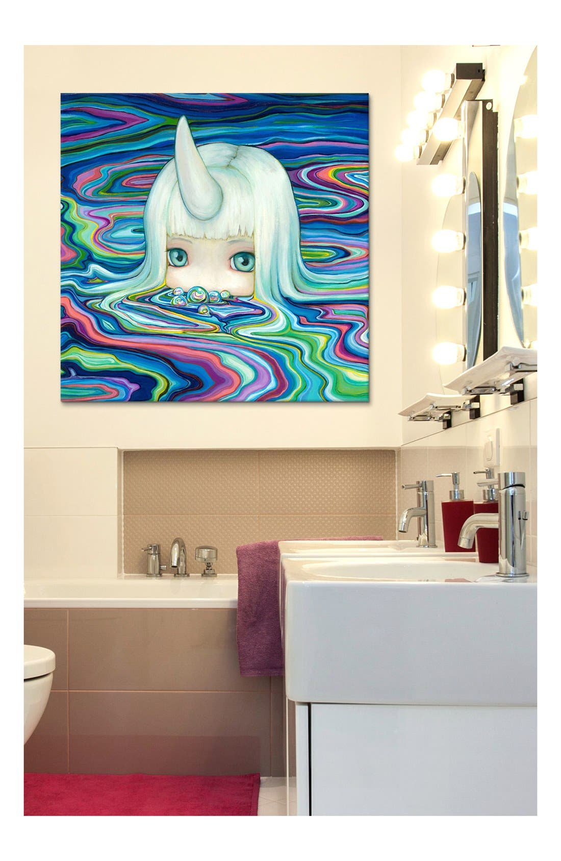 'Bubs - Camilla Derrico' Giclée Print Canvas Art,                             Alternate thumbnail 2, color,